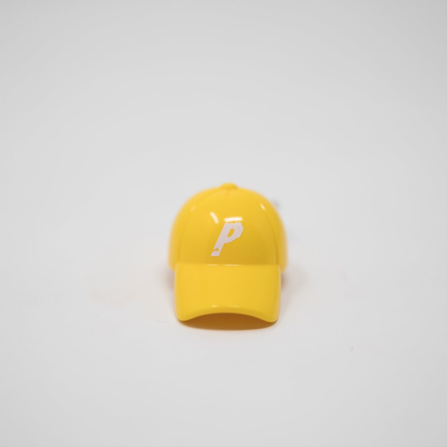 Palace Cap Yellow Keychain (Used)