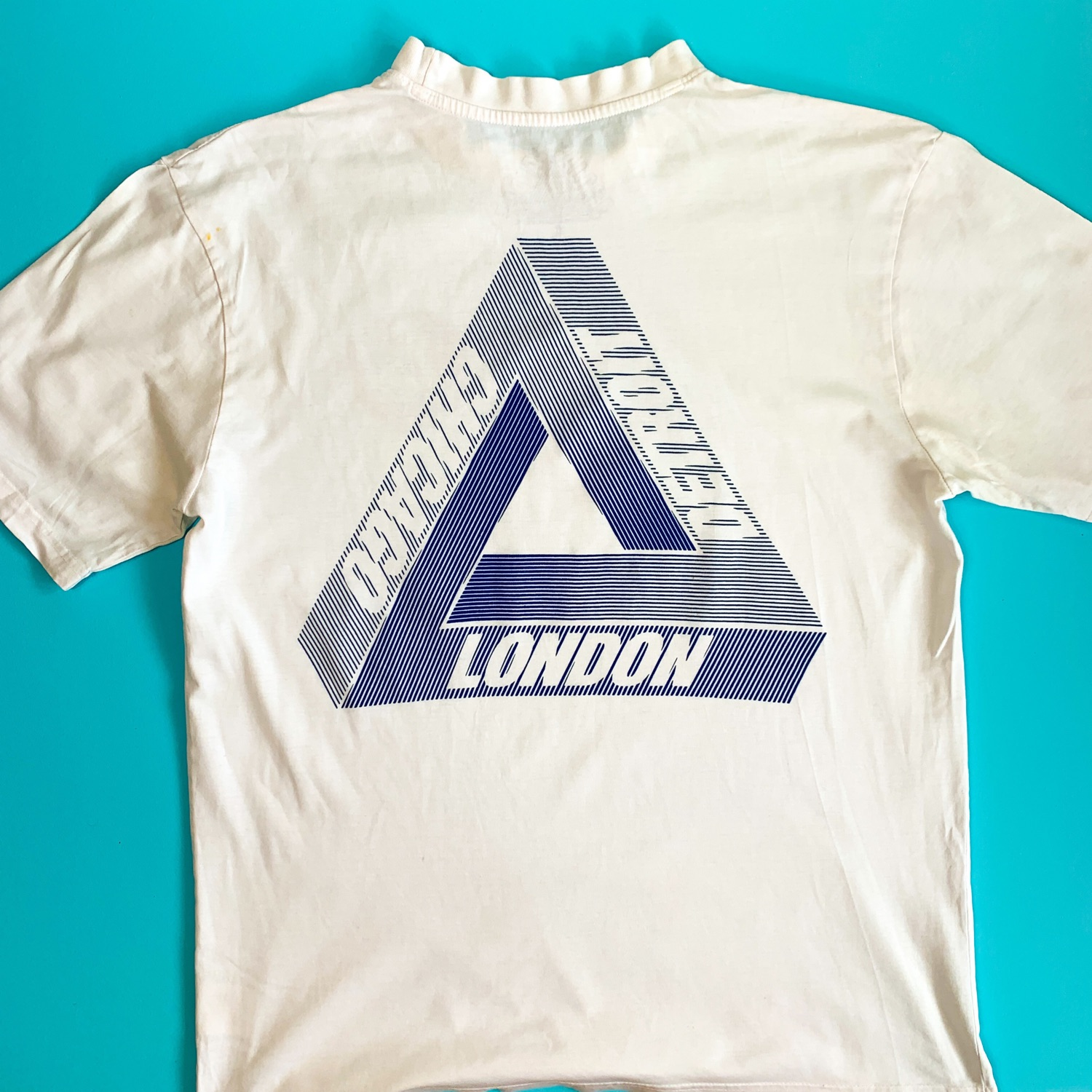 Palace Wax Label Tri Ferg T Shirt