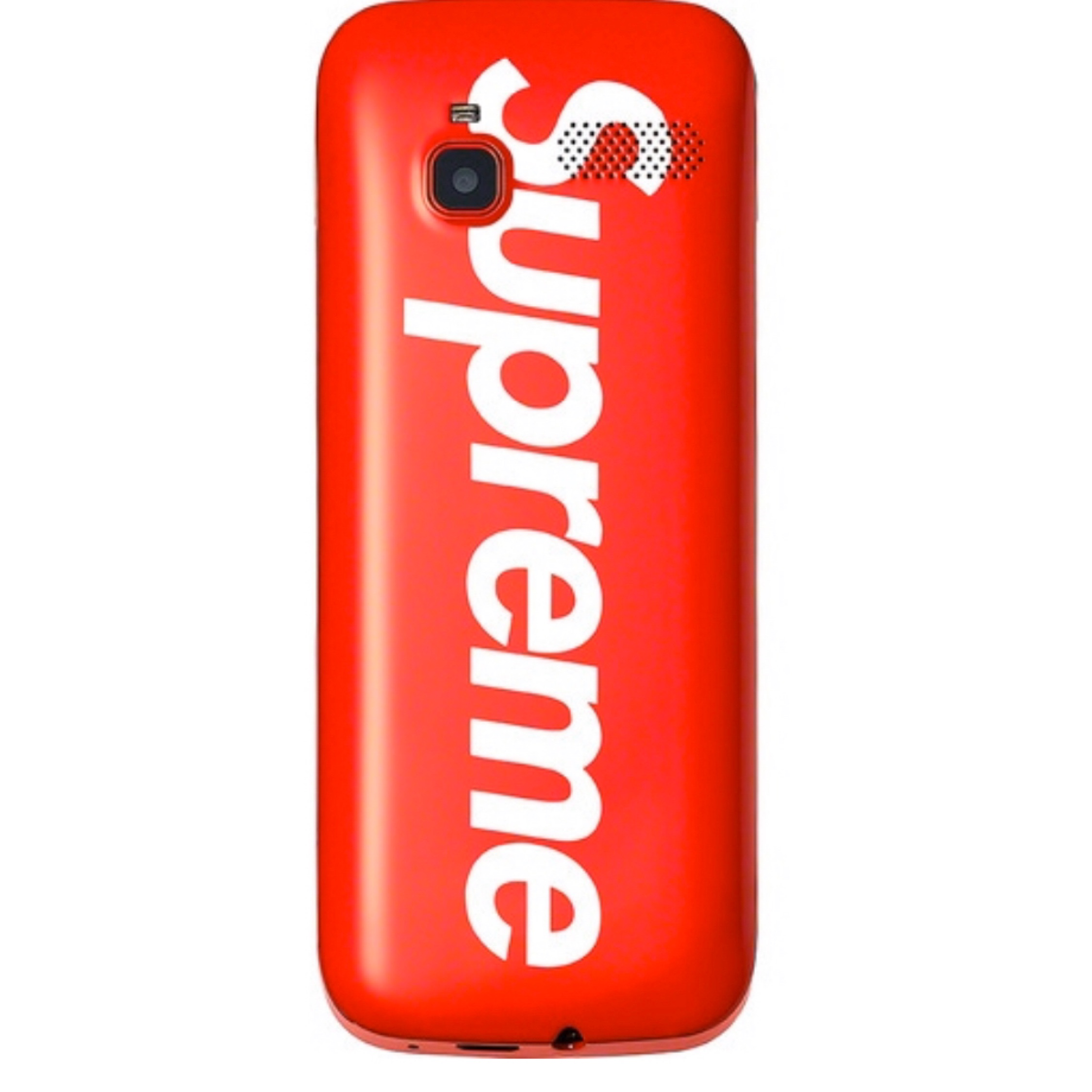 Supreme Red Burner Phone Brand New Red