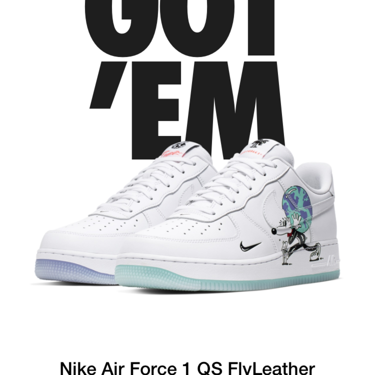 air force 1 earth
