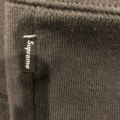 Supreme x CDG Black Box Logo Hooded Sweatshirt