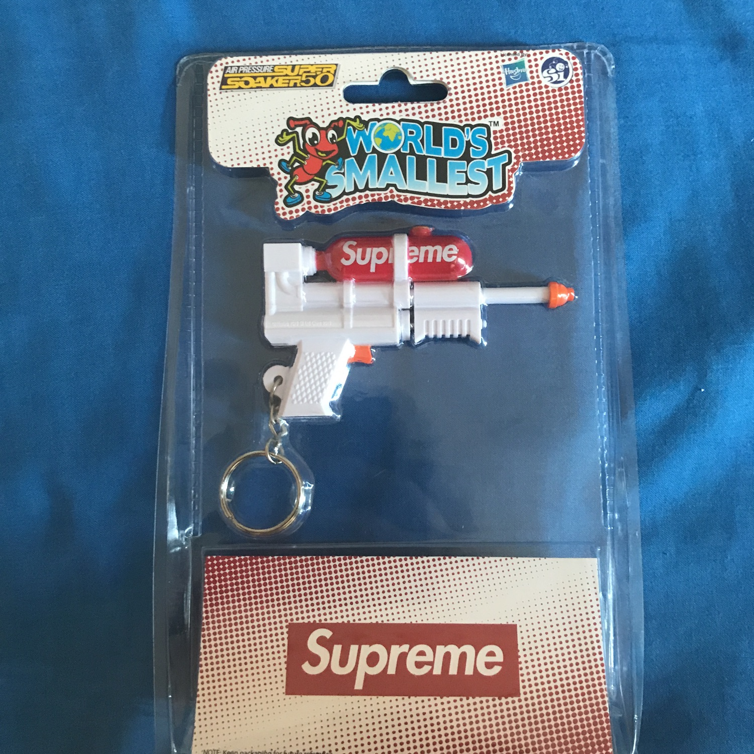 Supreme Super Soaker Key Chain Ss19