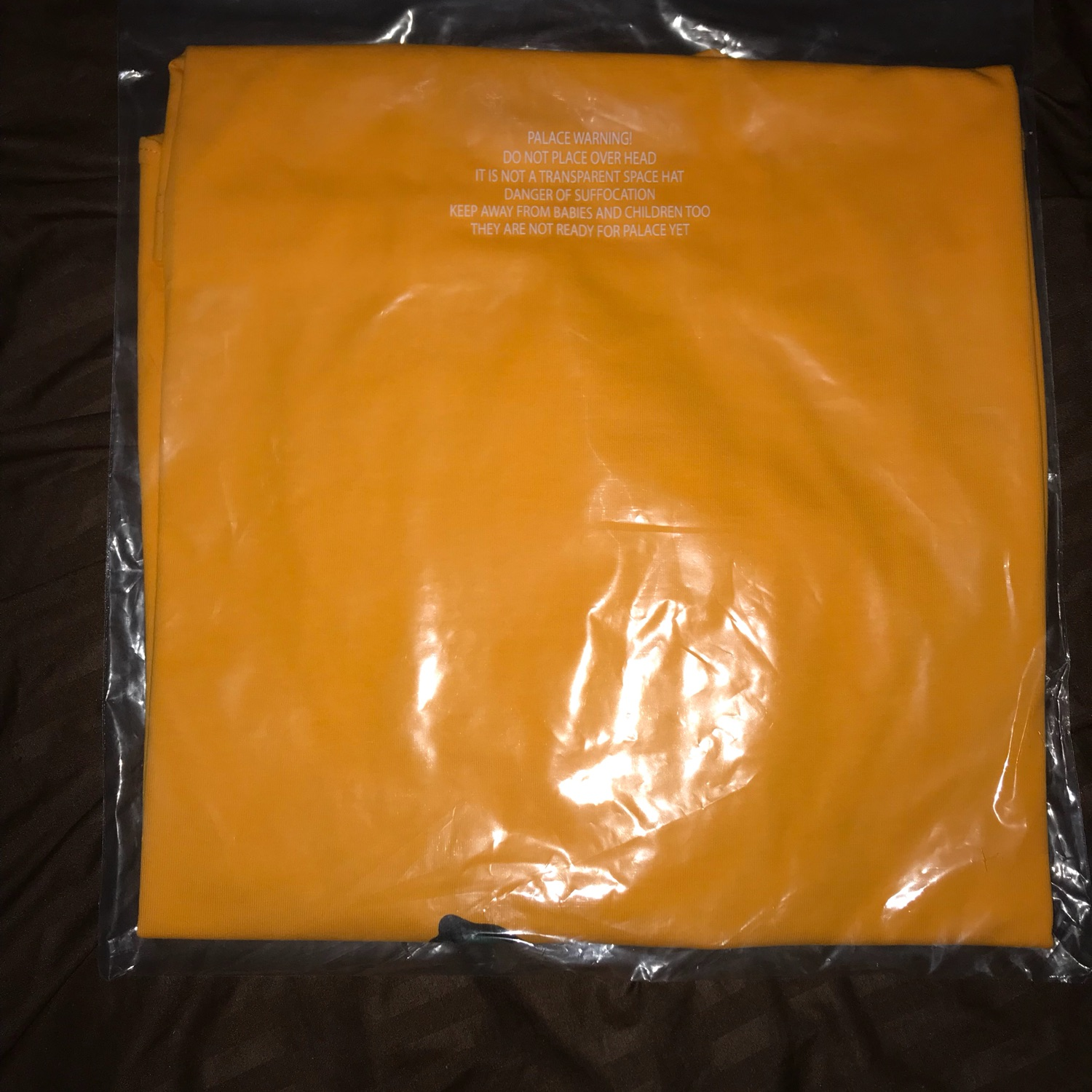 Palace Purtle Tee Yellow