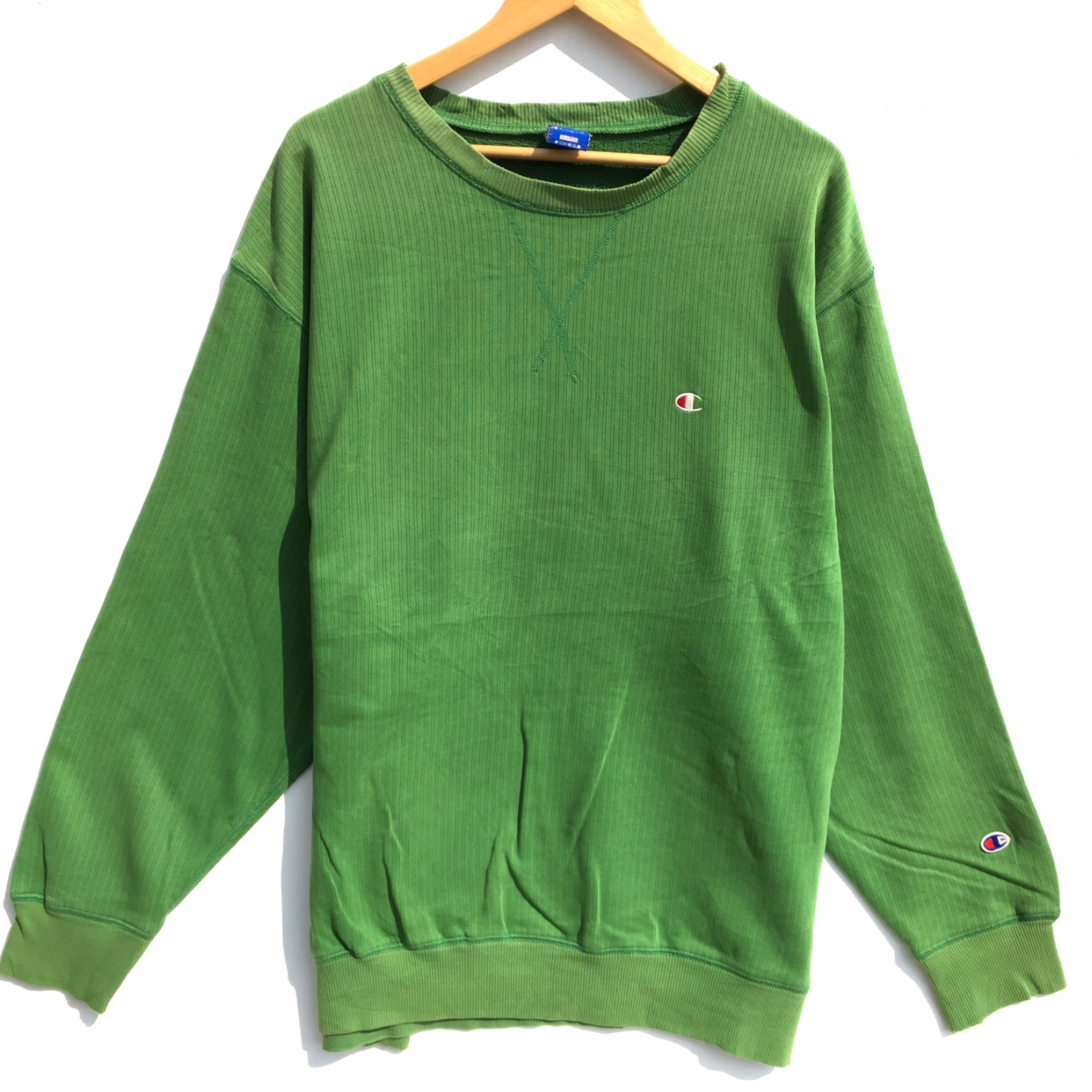 Vtg Champion Sweatshirt Green
