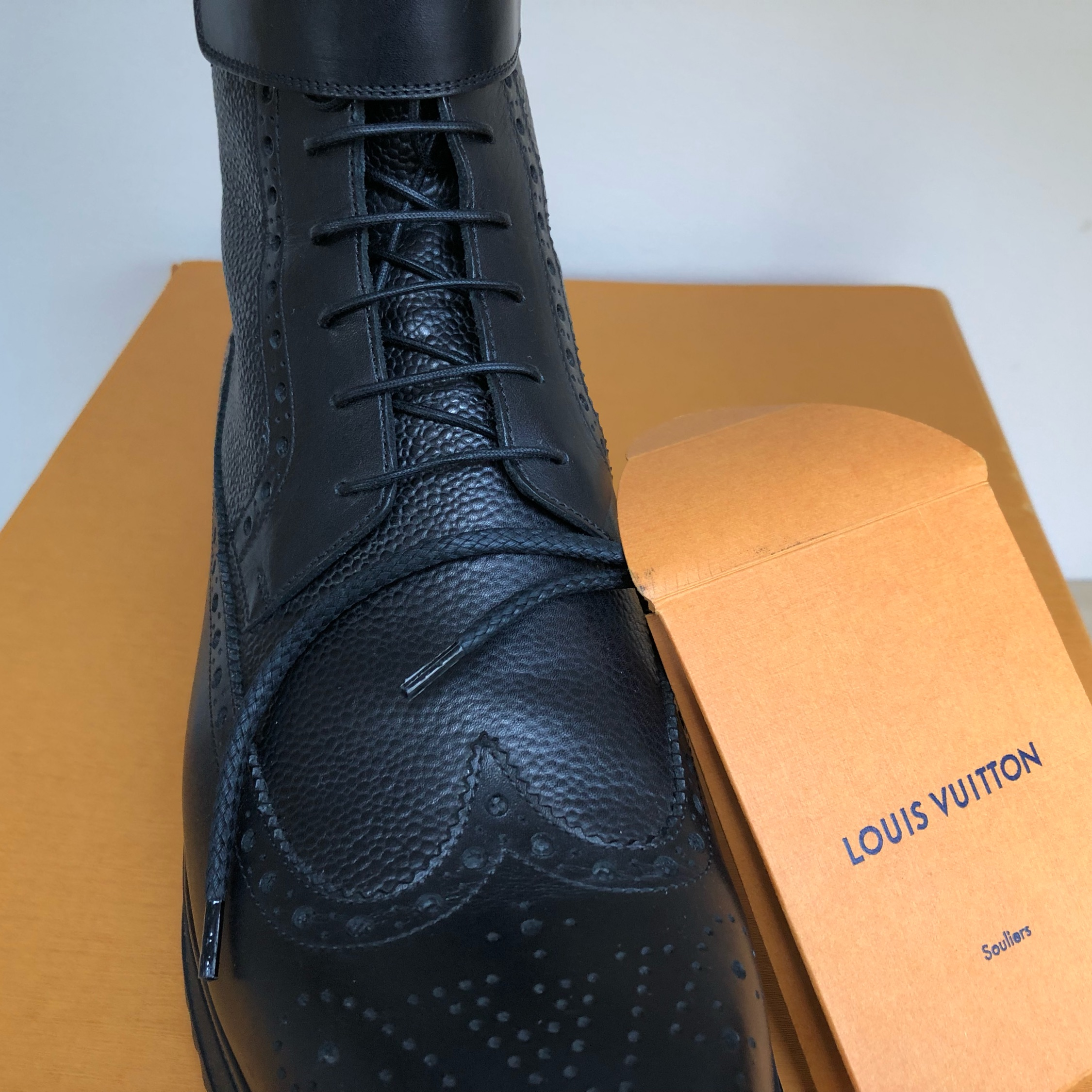Louis Vuitton Kim Jones Boots
