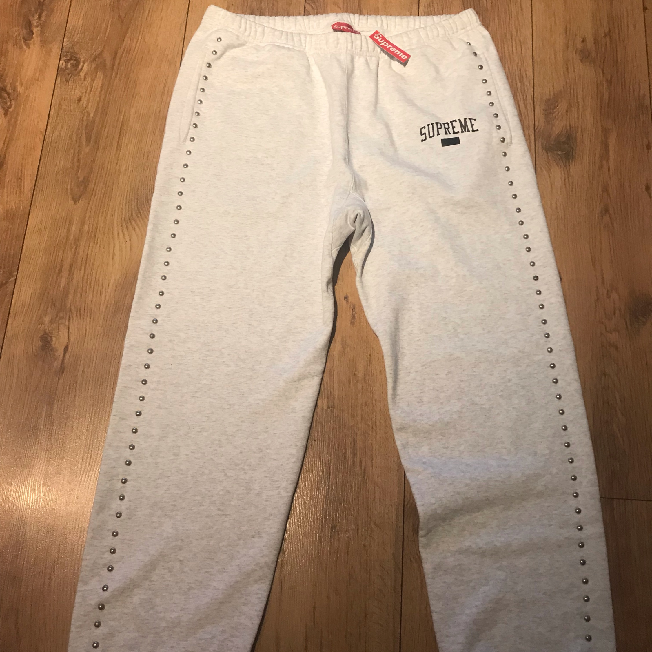 Fw18 Supreme Studded Sweatpant