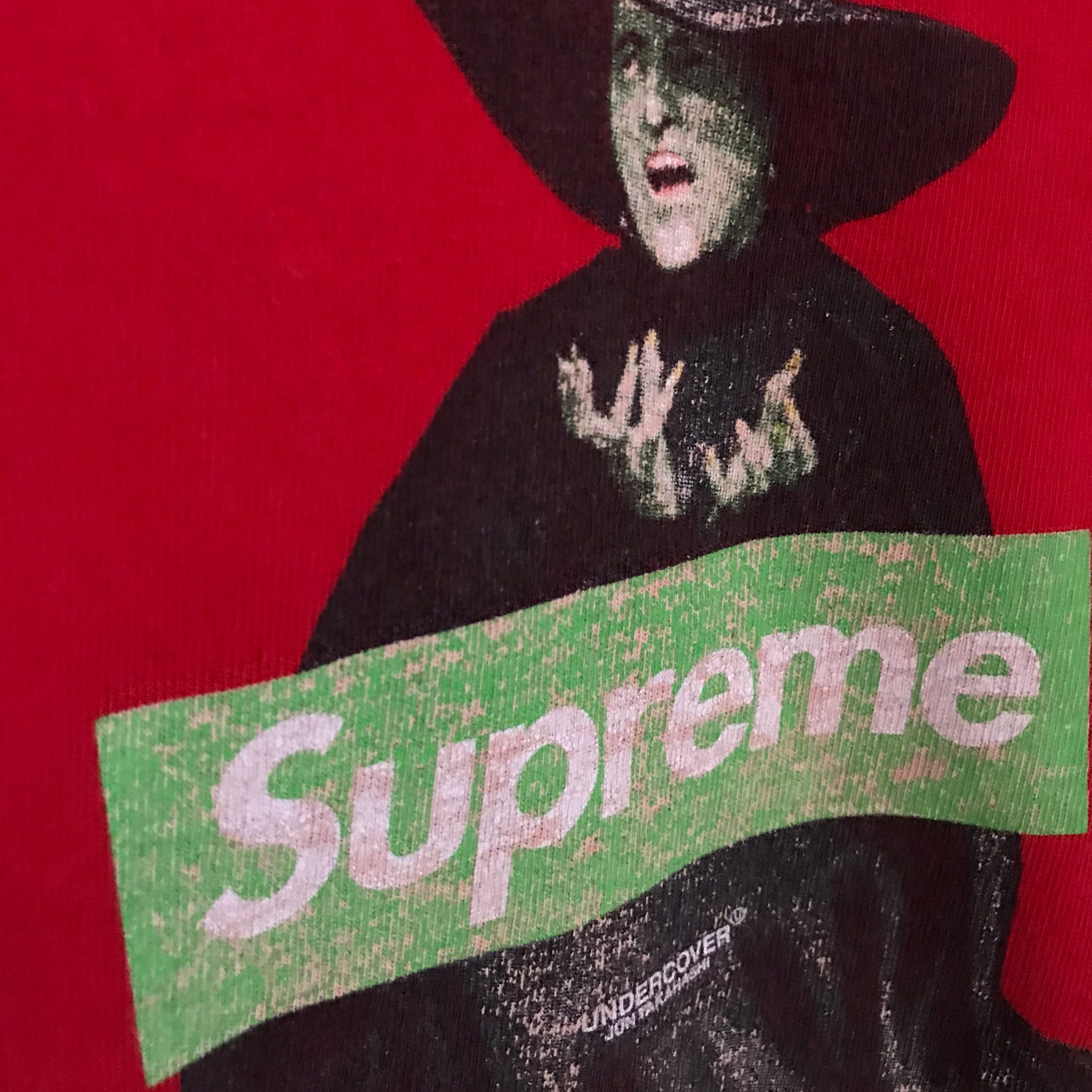 Ss15 Supreme X Undercover Witch Box Logo Tee