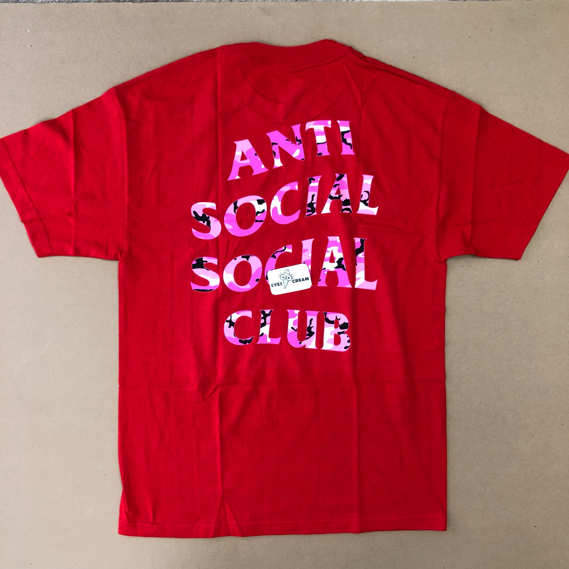 Ds Anti Social Social Club Beverly Red Tee Supreme