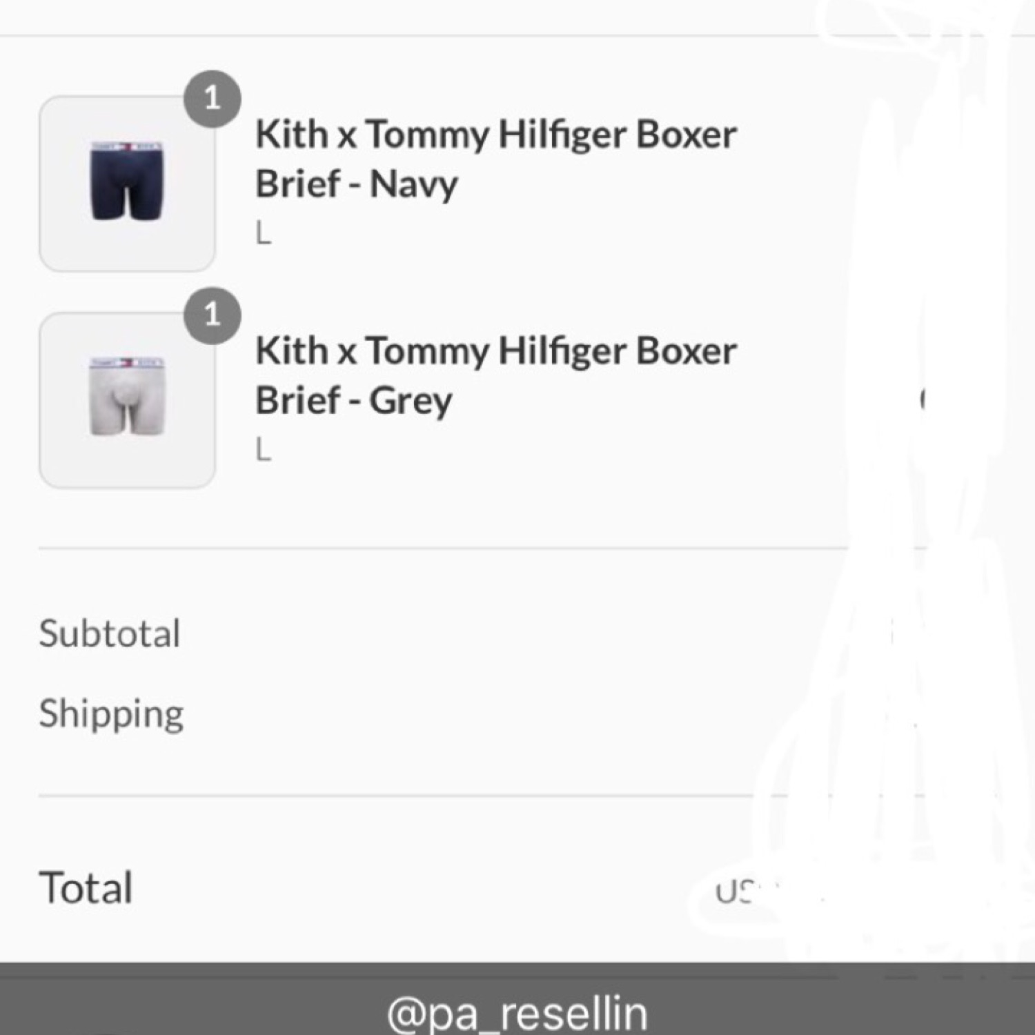 Tommy Hilfiger X Kith Boxers