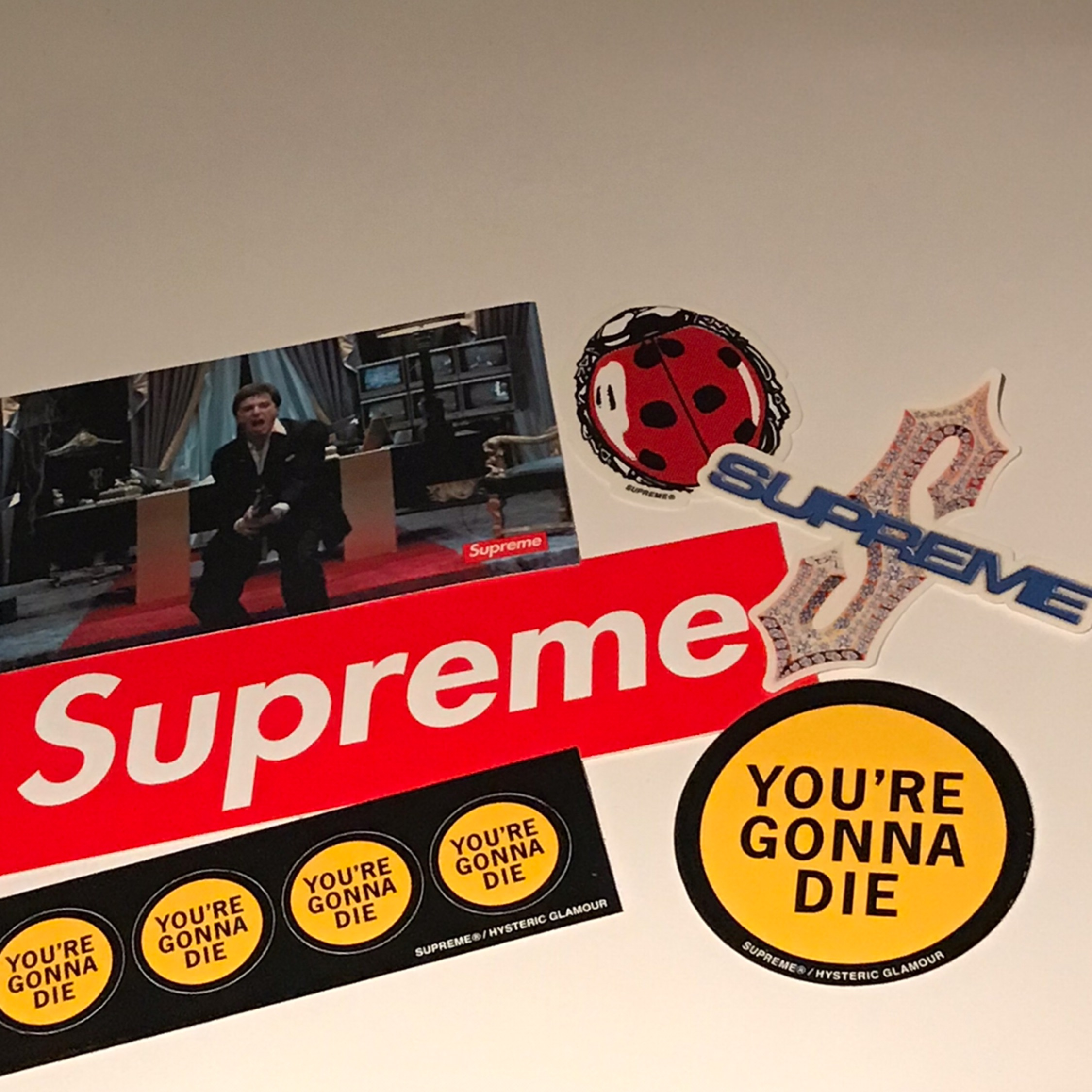 6X Supreme Stickers