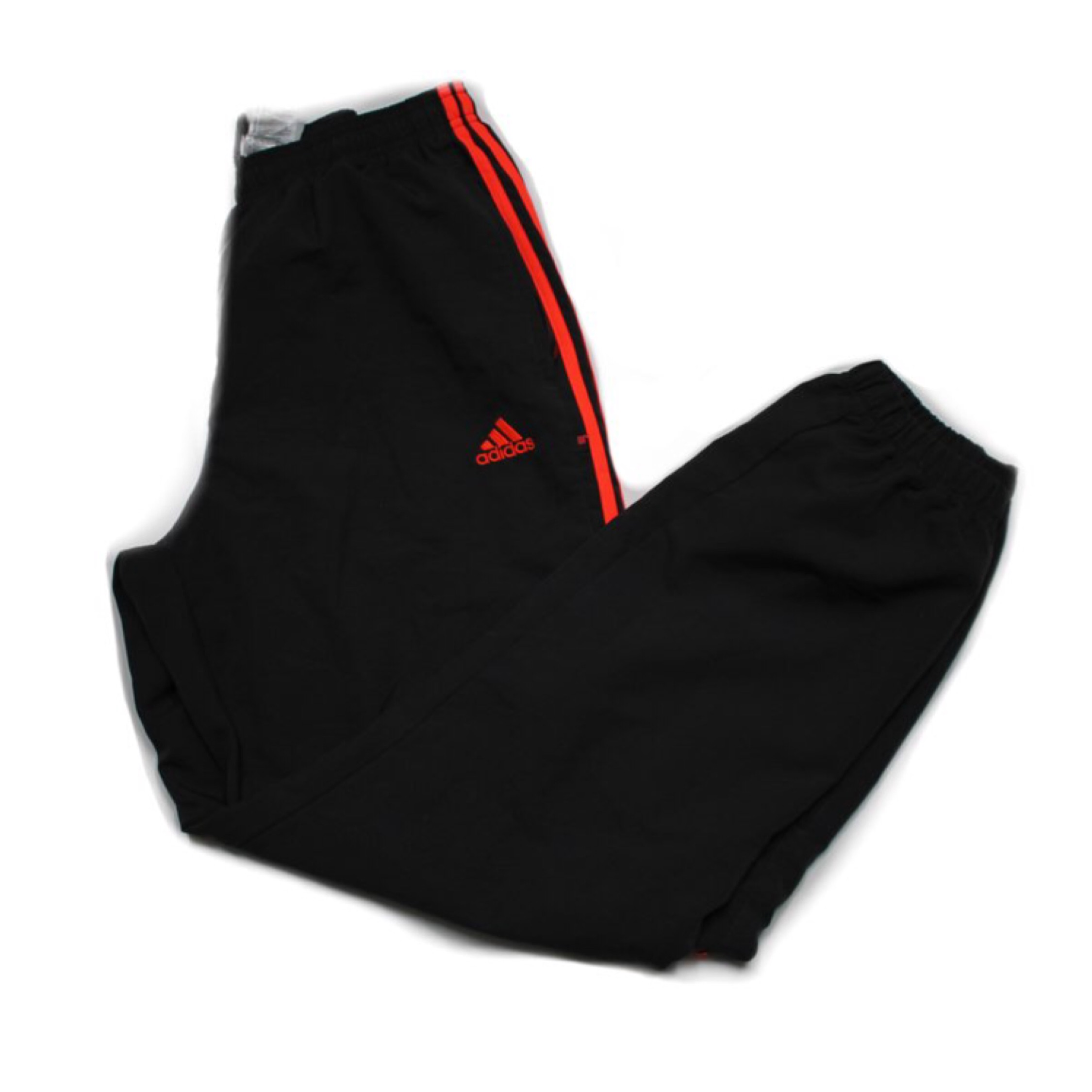 adidas track pants orange stripe