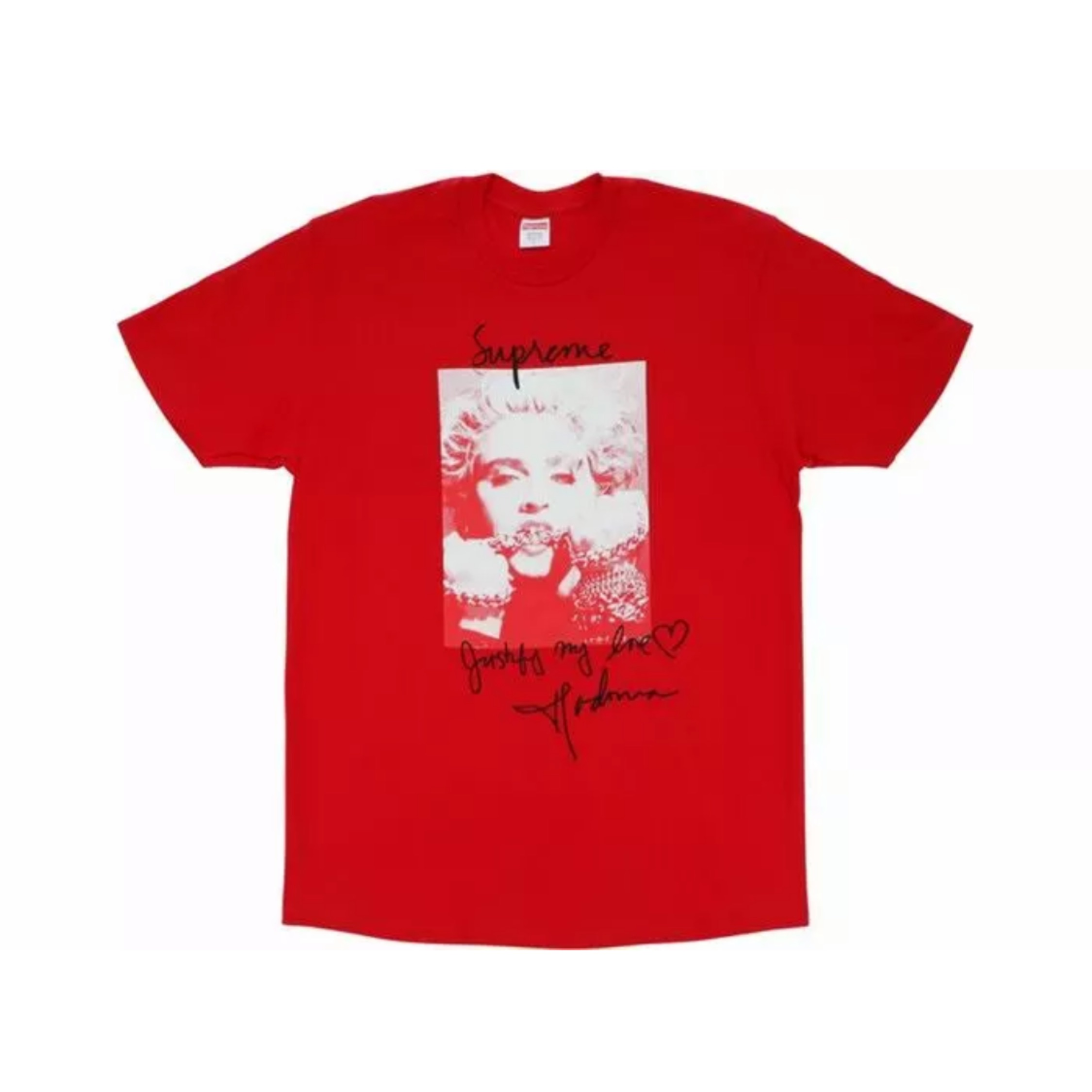 Supreme Madonna Tee Red L-Red T-Shirt Top