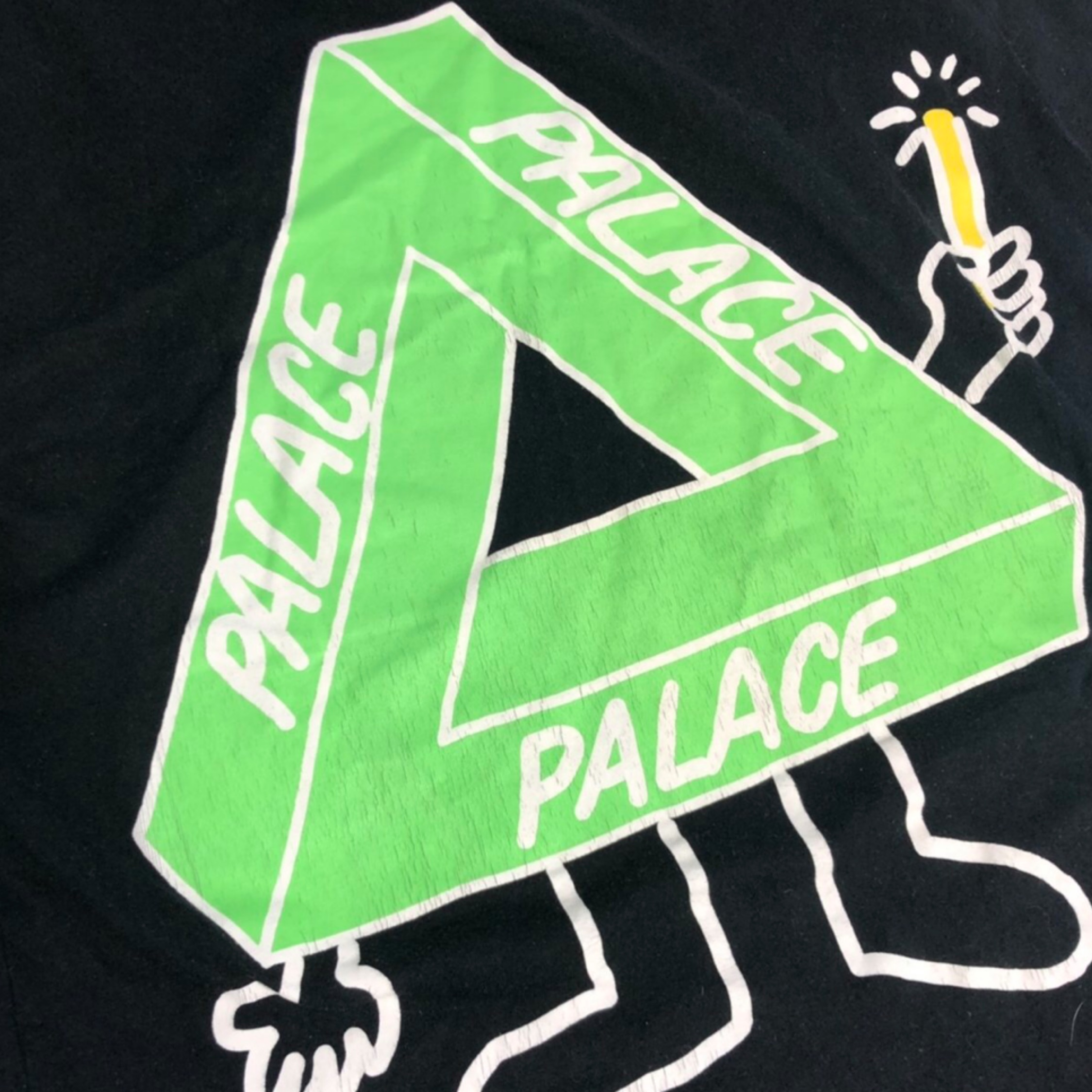Palace Glow Sticks Tri Ferg T Shirt