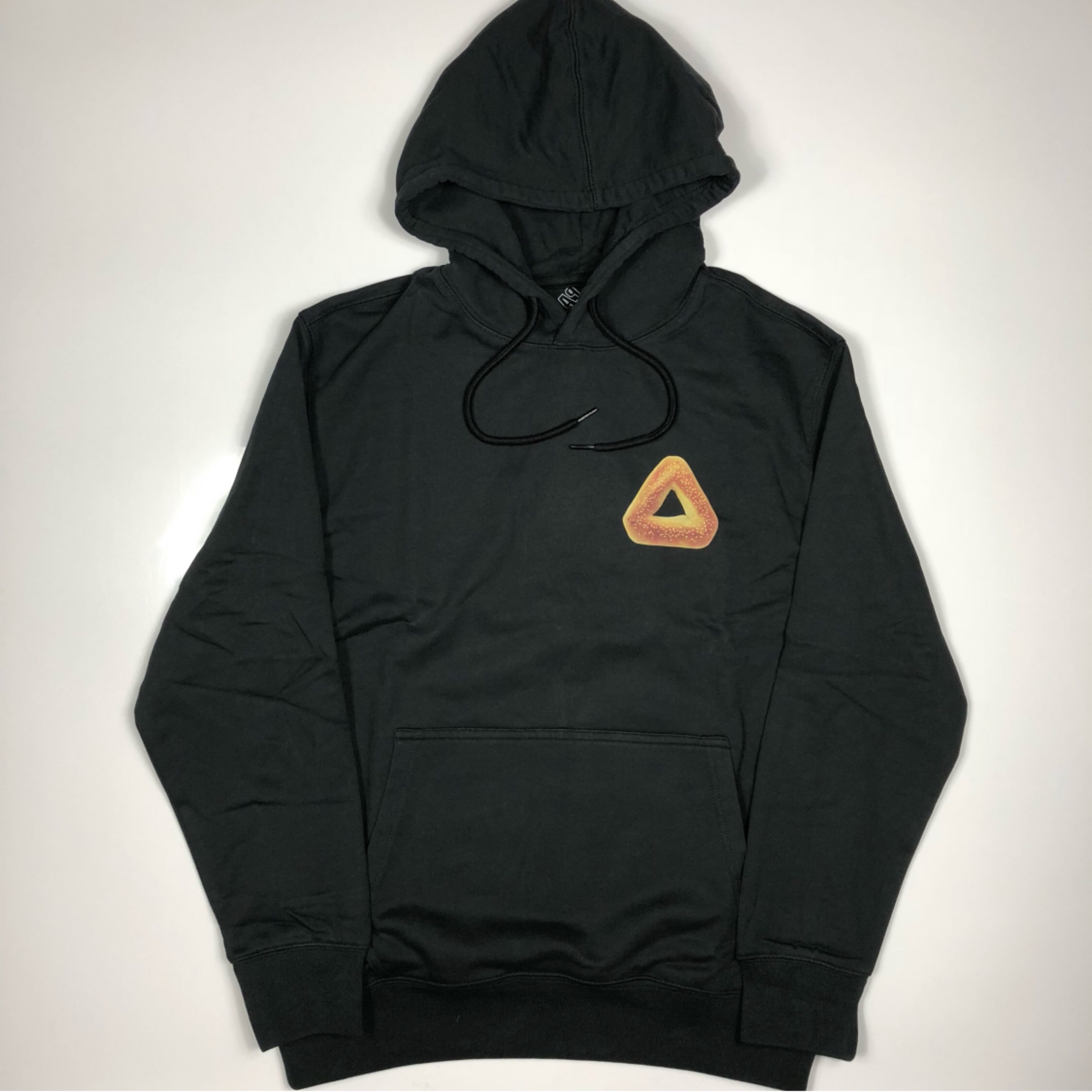 Palace Tri Bagel Hoodie Brand New Large Black