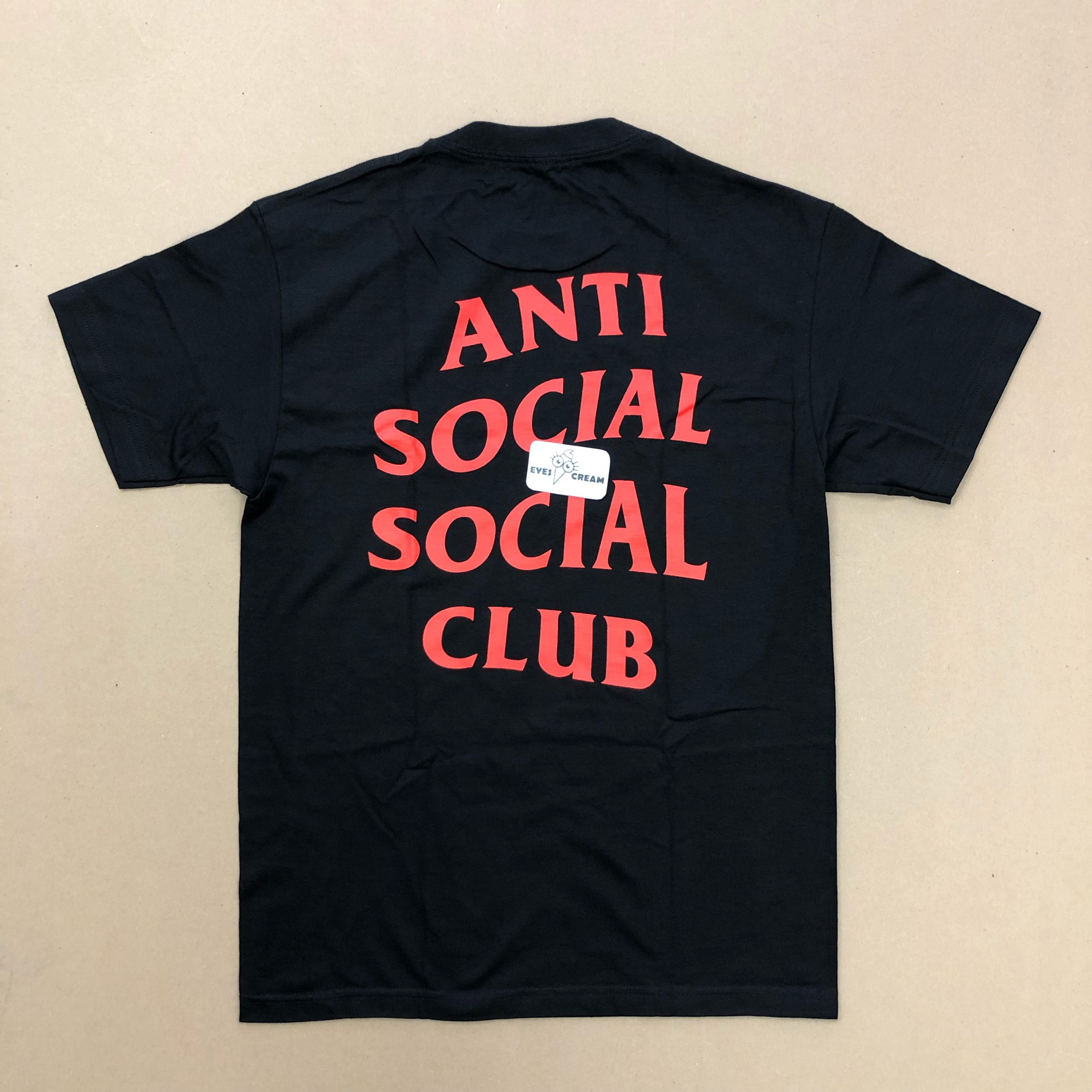 Ss Anti Social Social Club Lies Tee Black Supreme