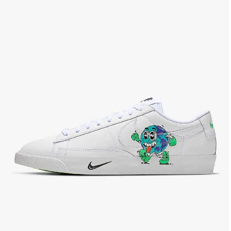 Nike Blazer Flyleather Steve Harrington Earth Day 2019 US 6.5