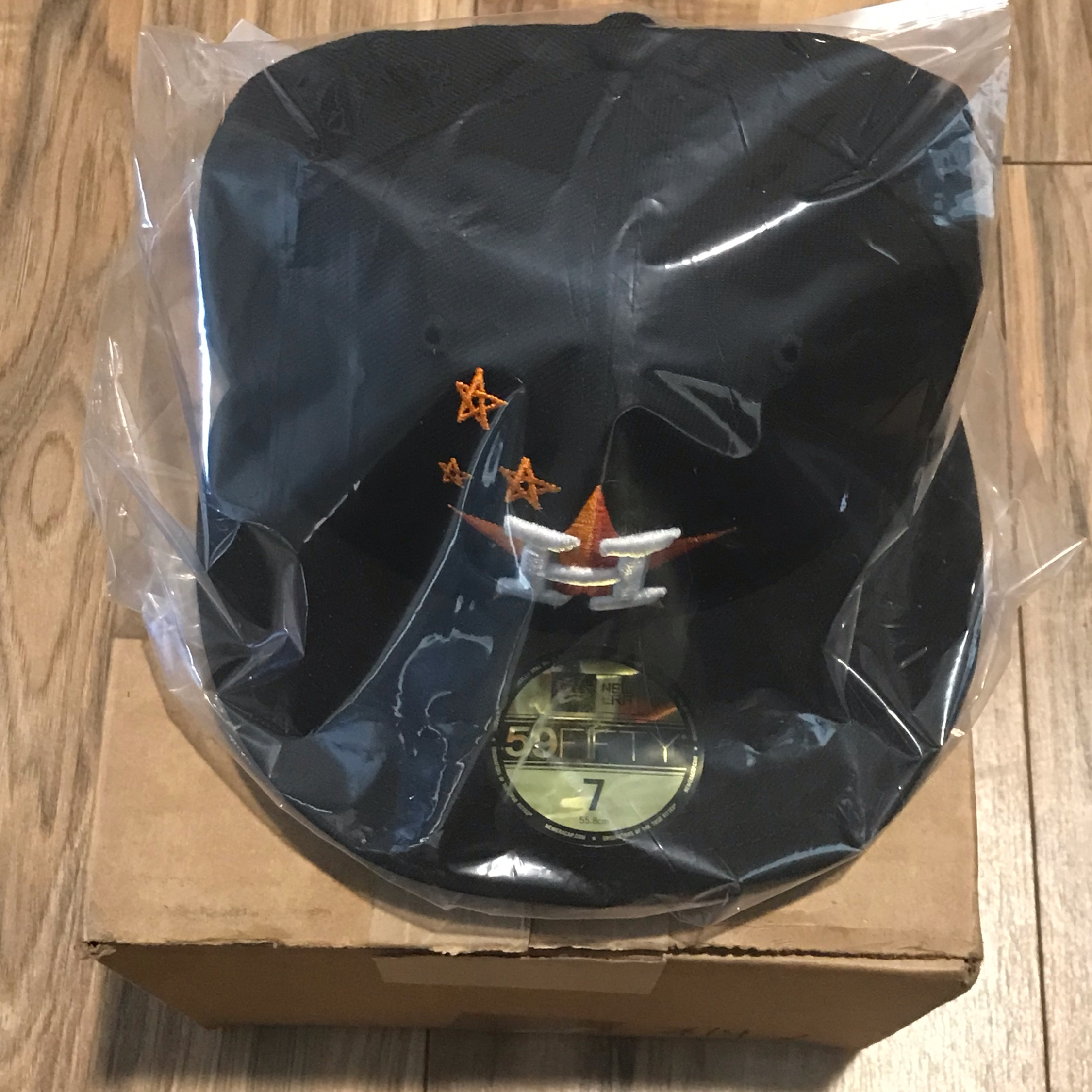 Houston Astro X Travis Scott Hat Astroworld Sz 7