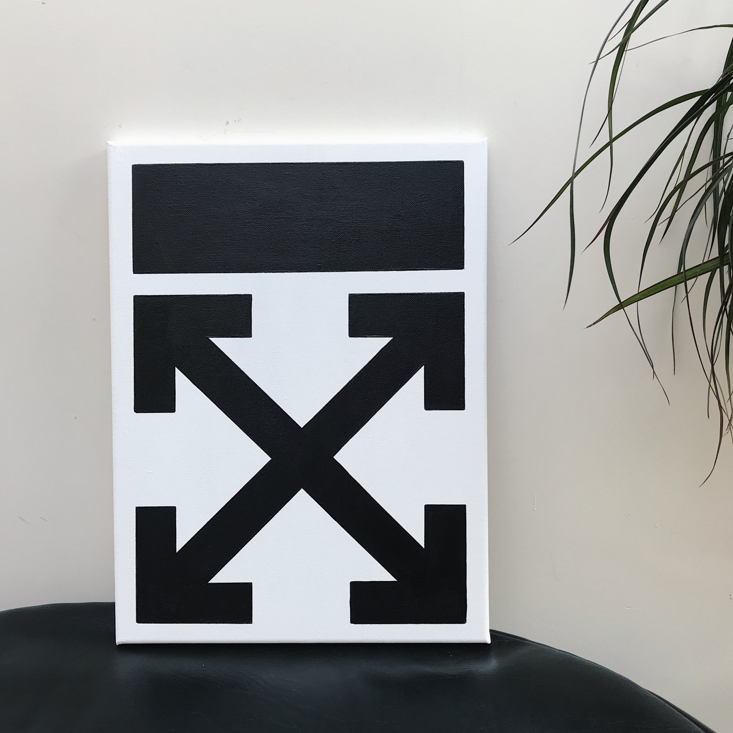 Off White Acrylic Canvas Painting | 240+ Reviews