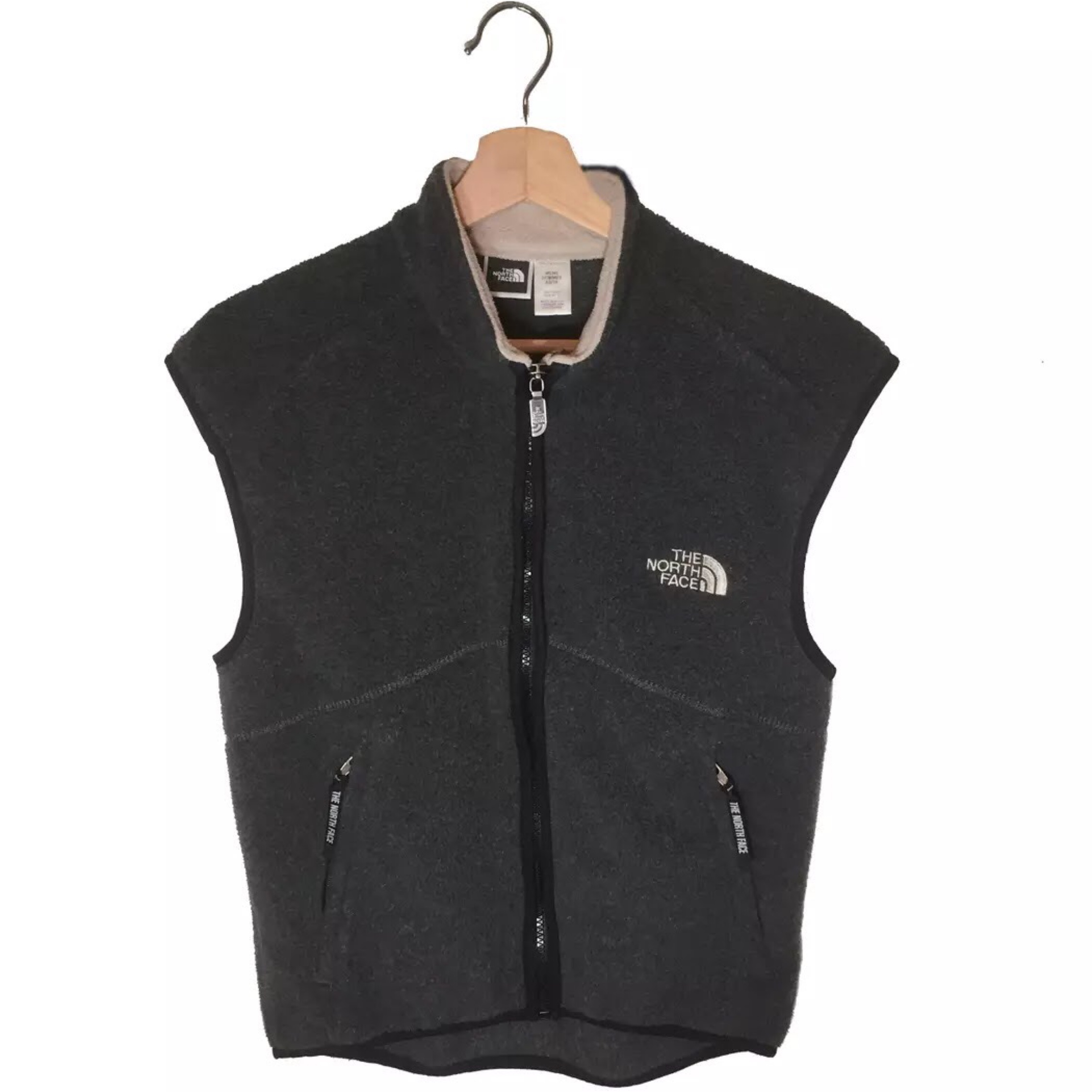 The North Face Embroidered Fleece Vest