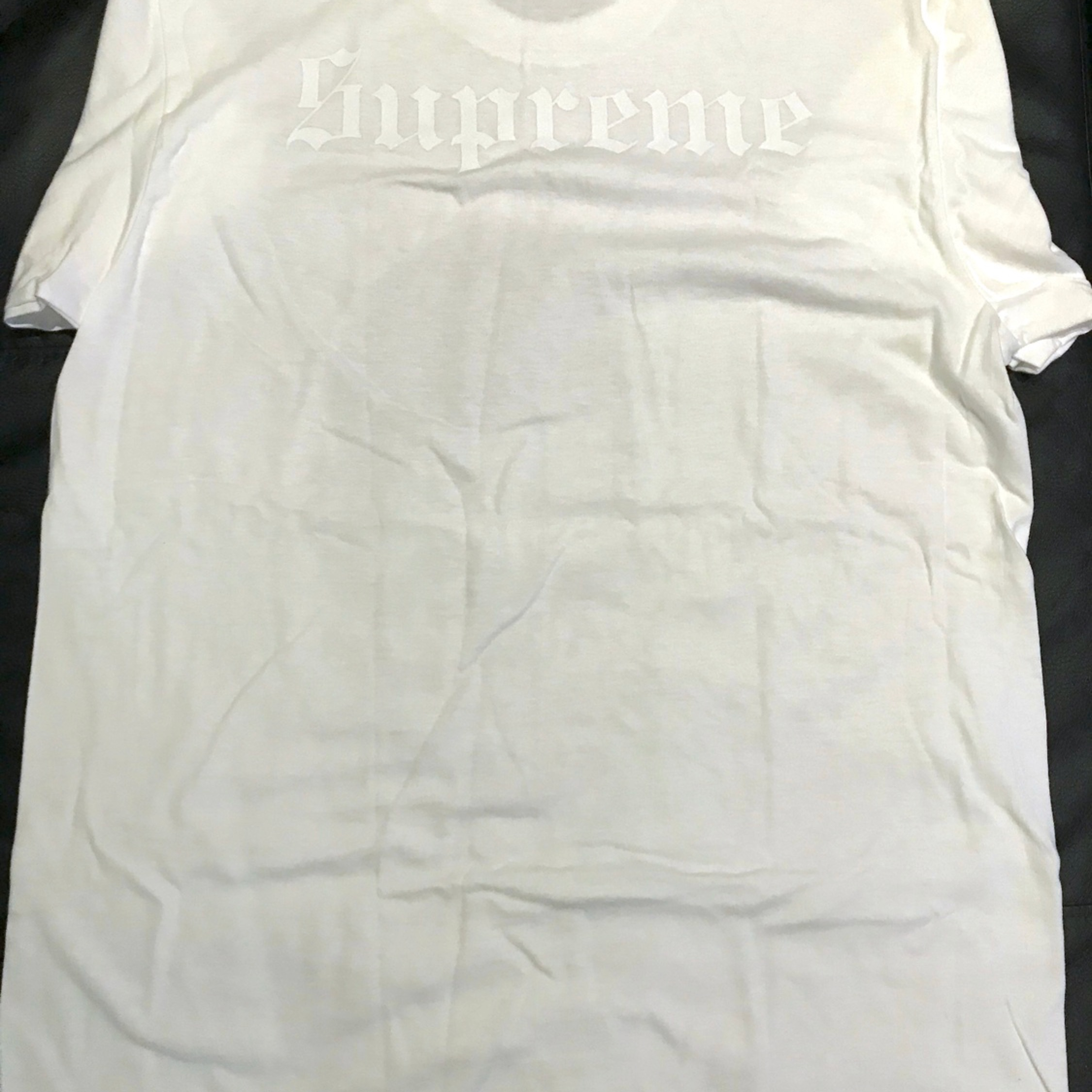 Supreme Hellraiser White Tee New M