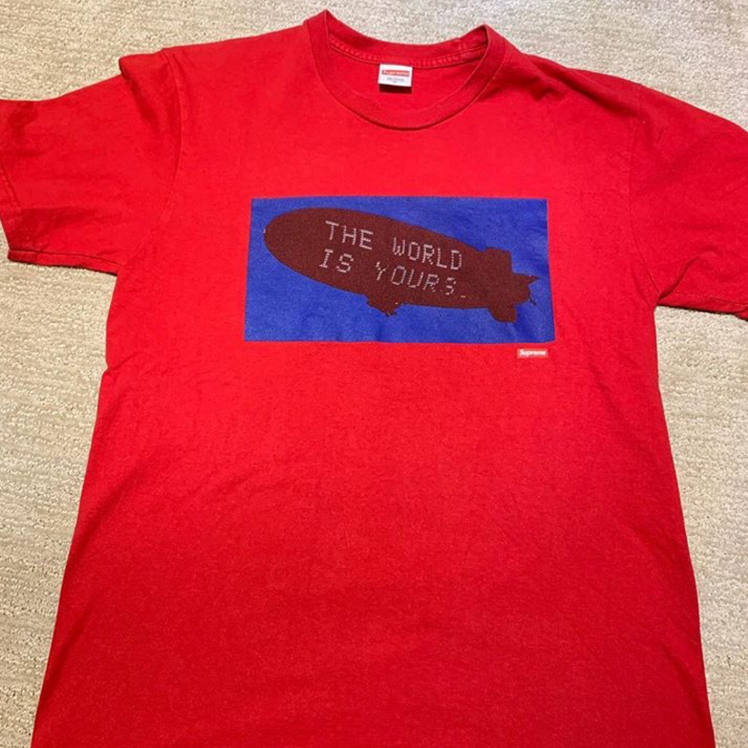 Supreme Scarface Blimp Tee Red