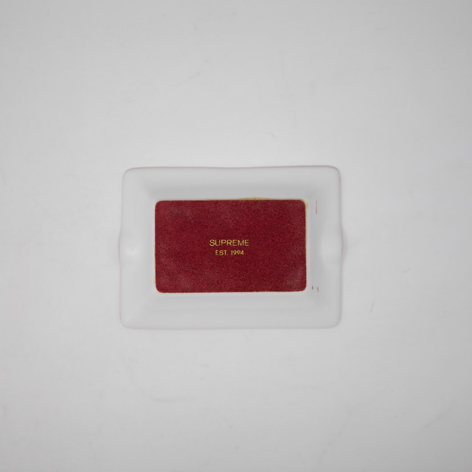 Supreme Last Supper Ashtray Red (Used)