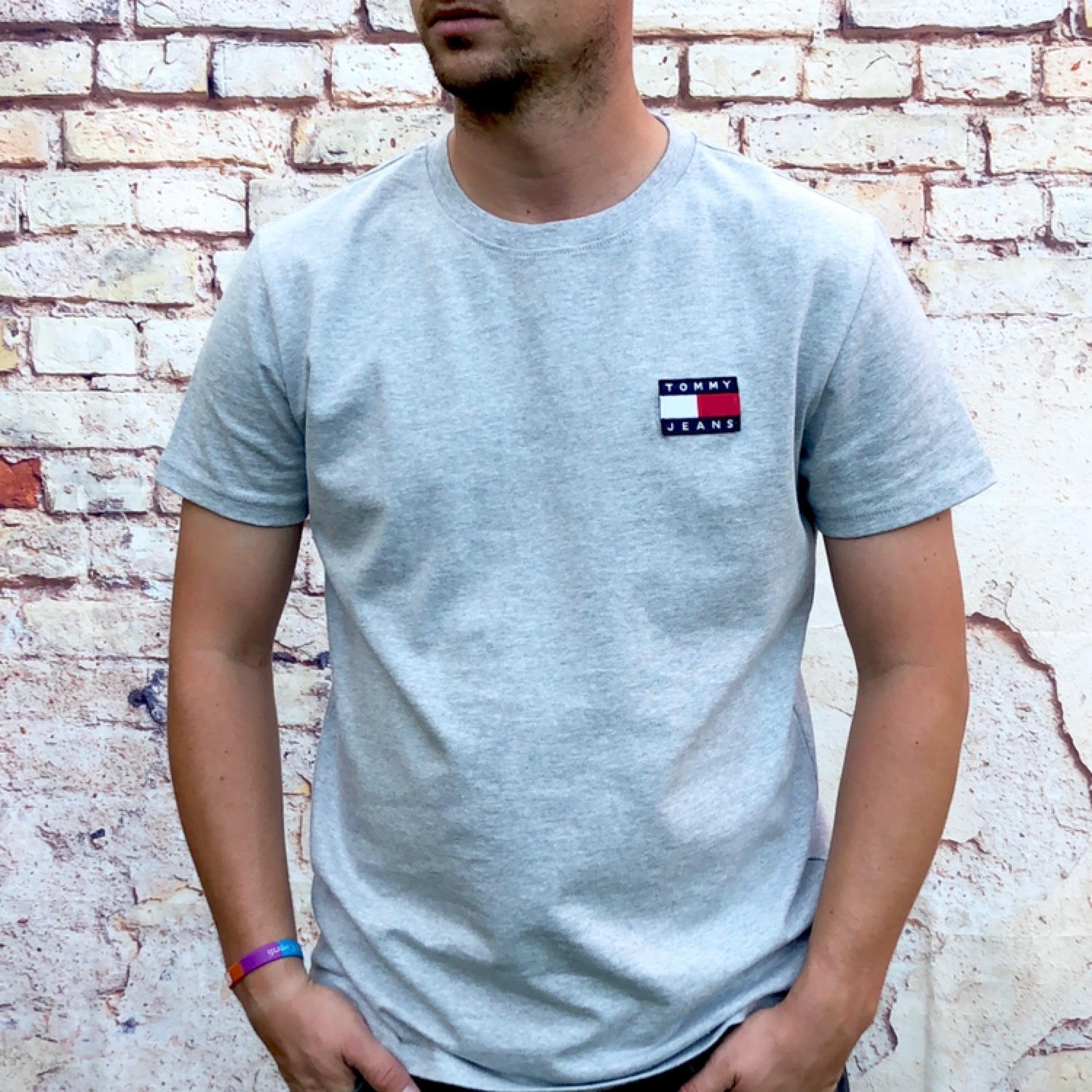 Brand New Grey Tommy Hilfiger Tee Shirt