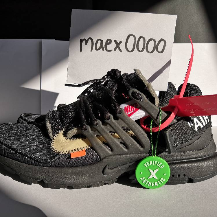 NIKE AIR PRESTO x OFF-WHITE : THE 10 (black) STOCKX ...