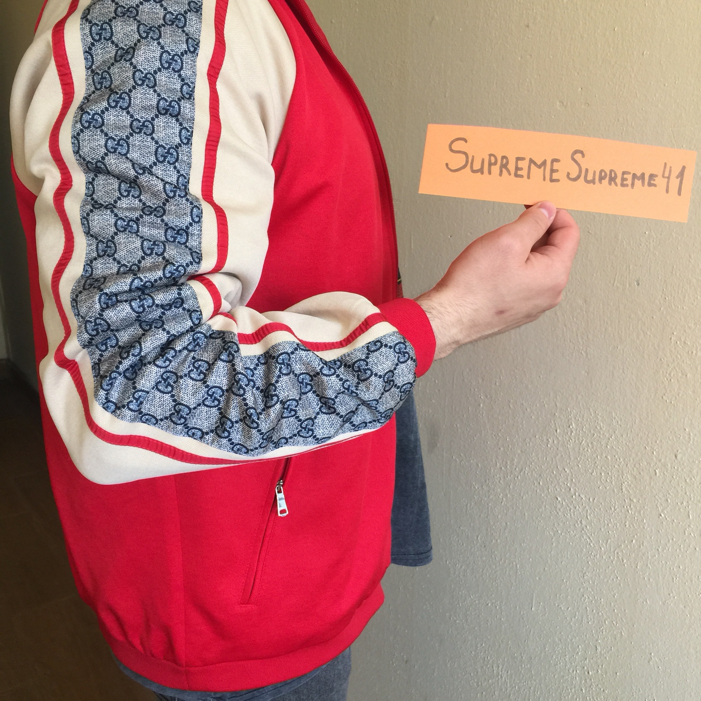 Gucci Oversize Technical Jersey Jacket / Gucci