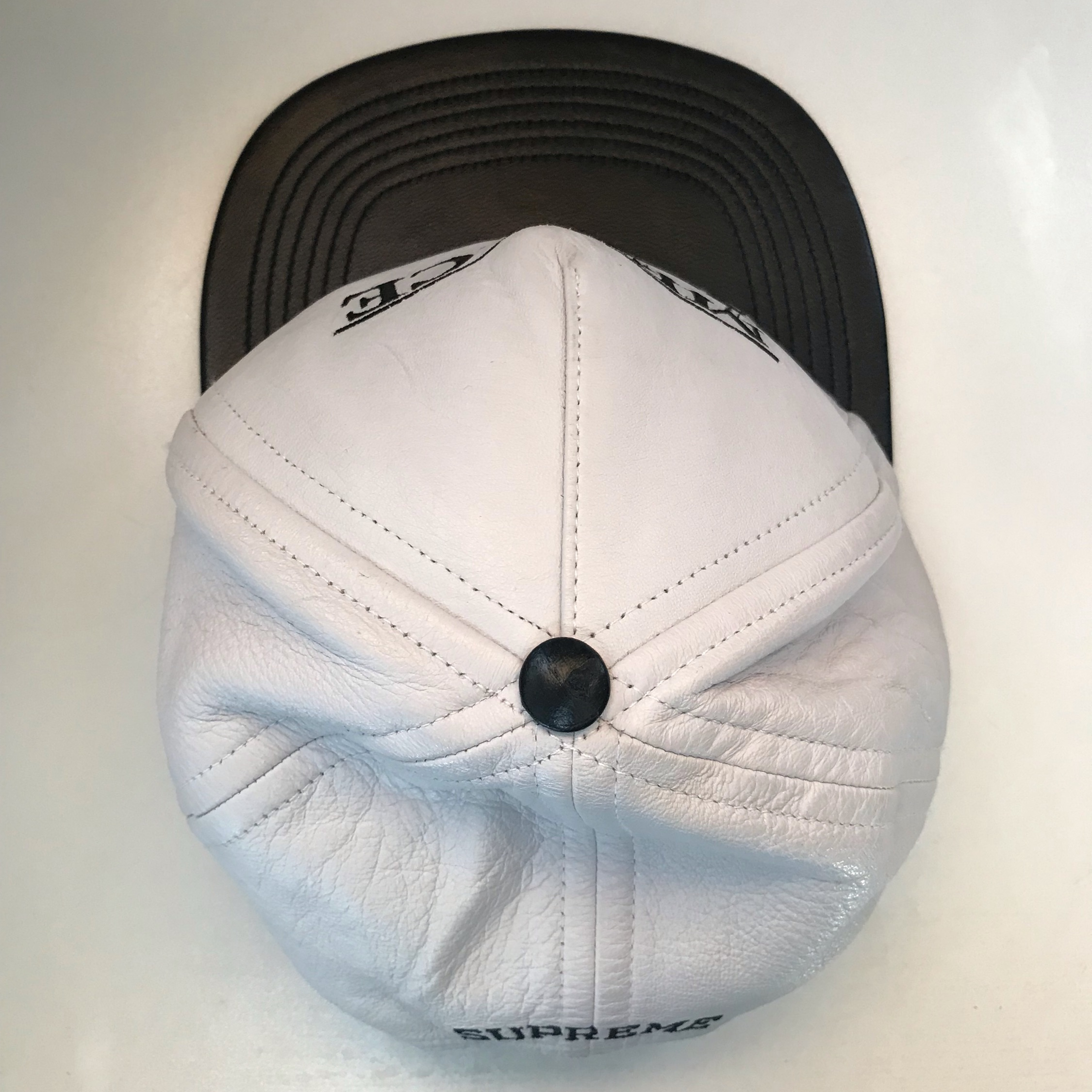 Ss14 Supreme Menace Ii Society Leather Hat