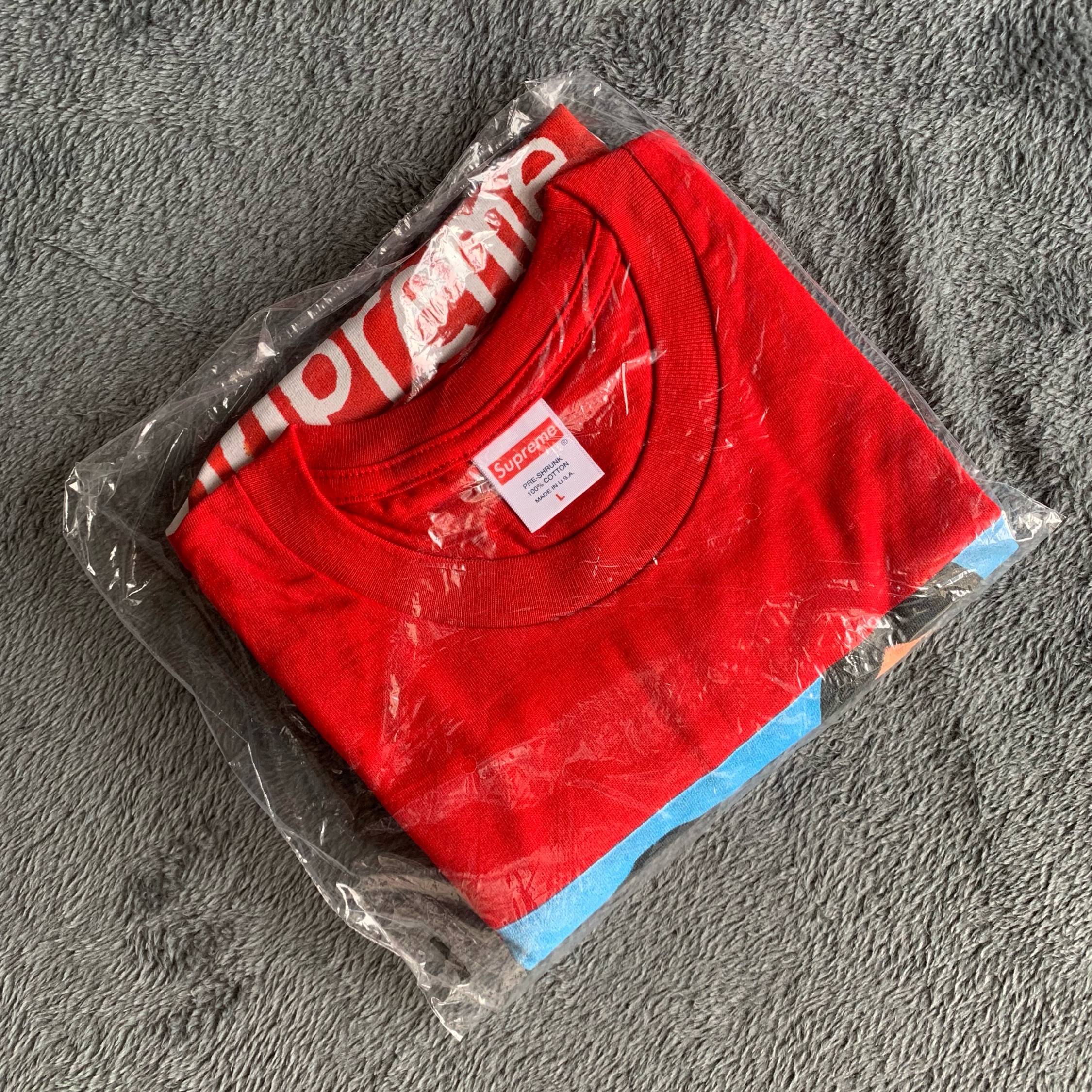 Supreme Group Tee Red