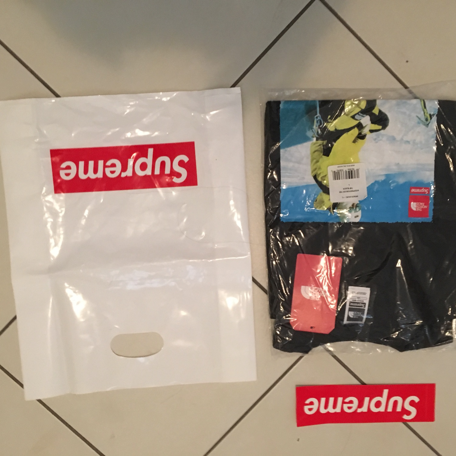 Supreme The North Face Black
