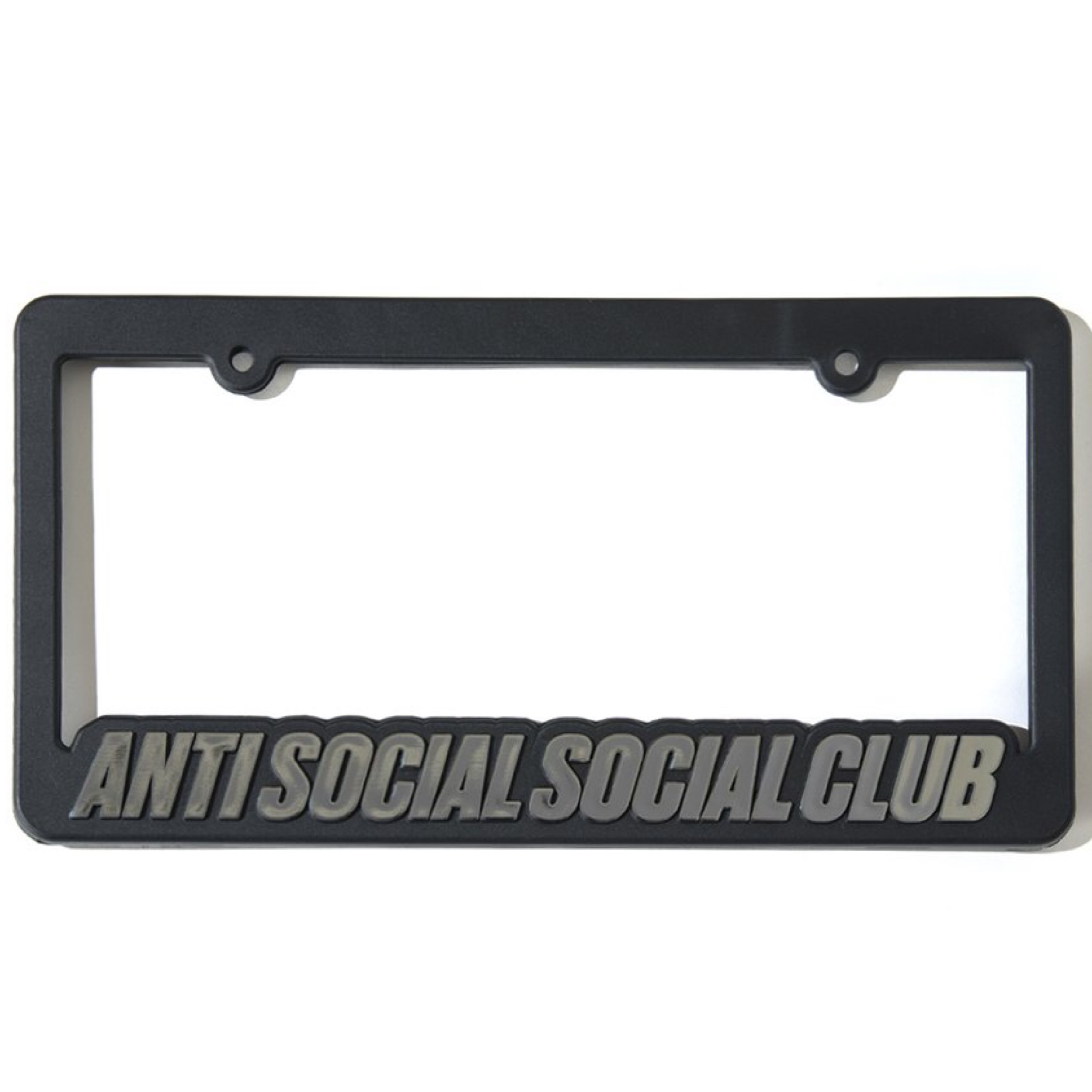 Anti Social Social Club Blocked License Plate