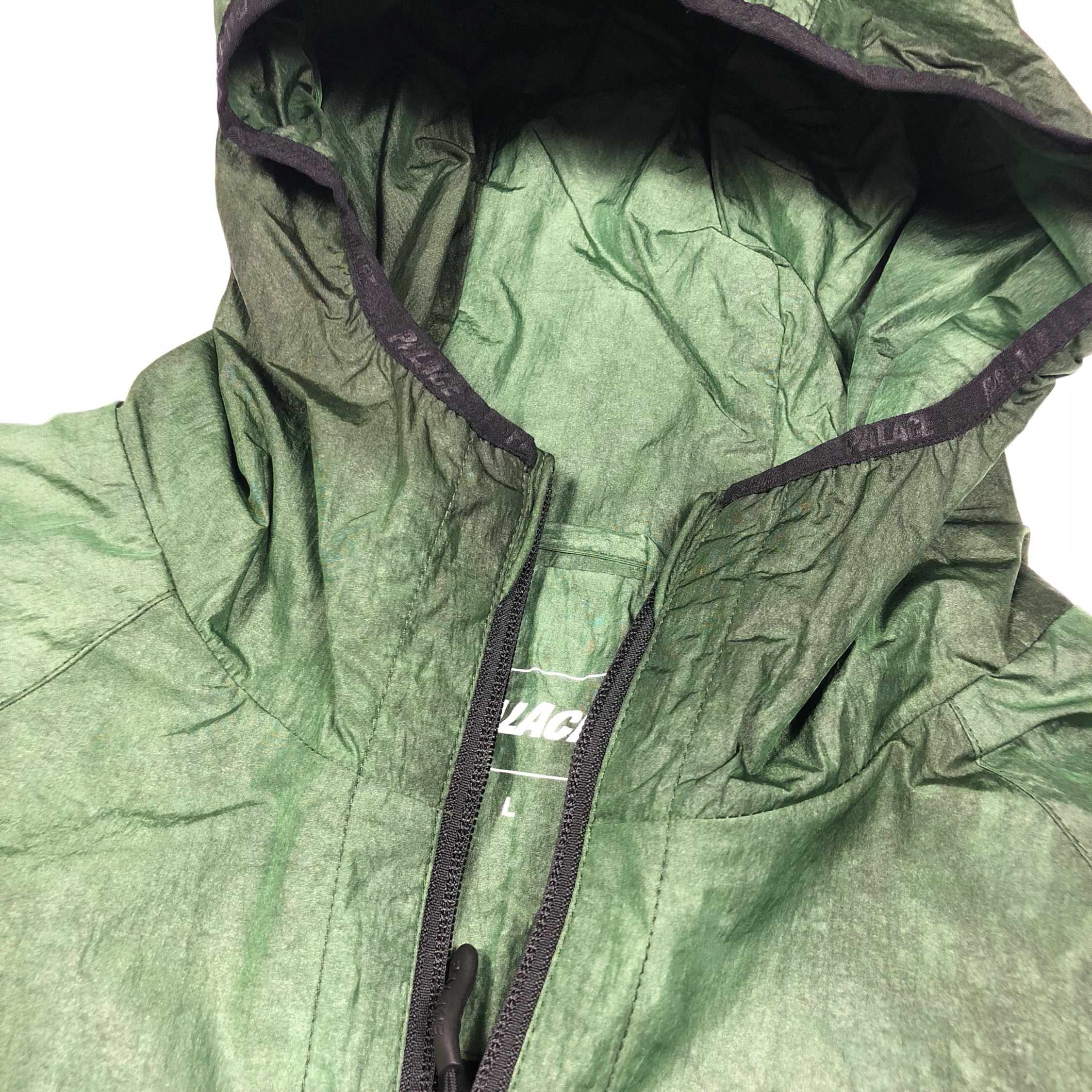 Palace Waver Jacket Green New Large Rrp158
