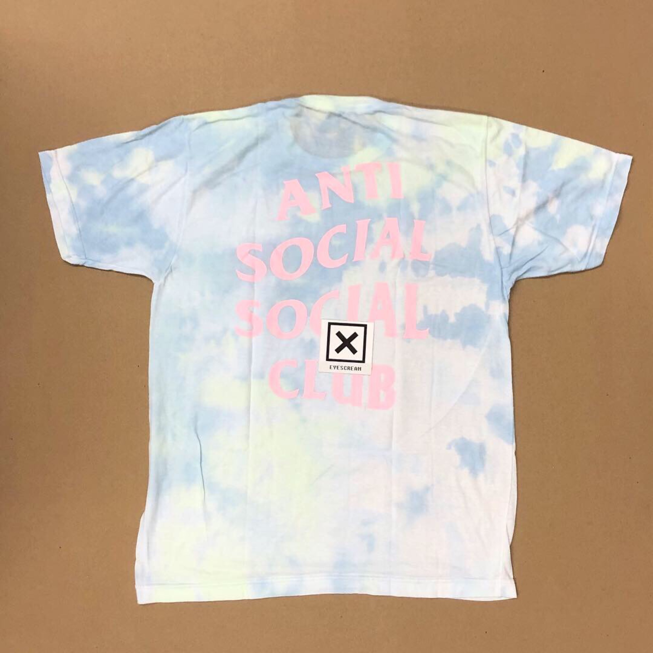 Ds Anti Social Social Club Lsd Dye Tee Supreme