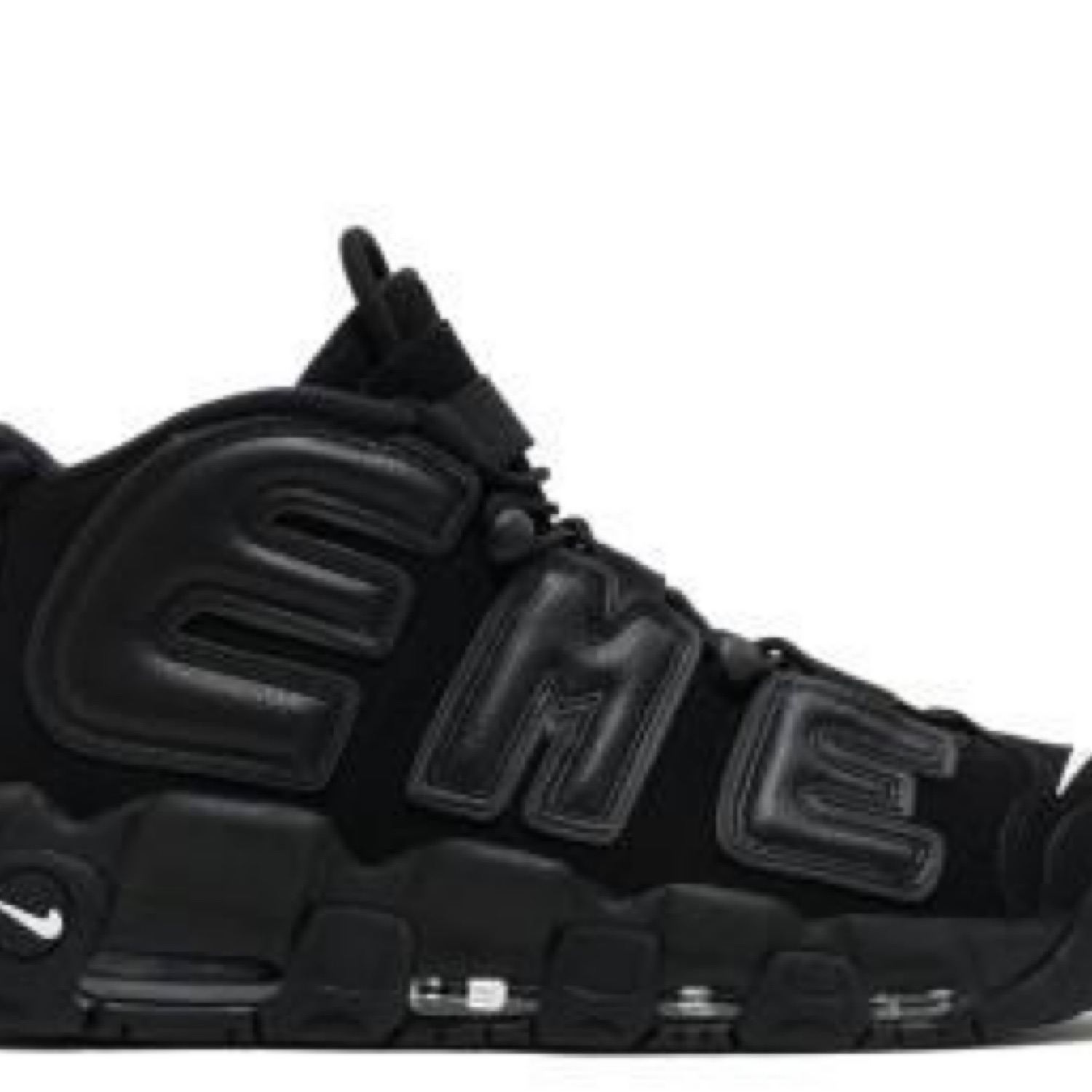 Nike Air More Uptempo Suptempo Supreme Black