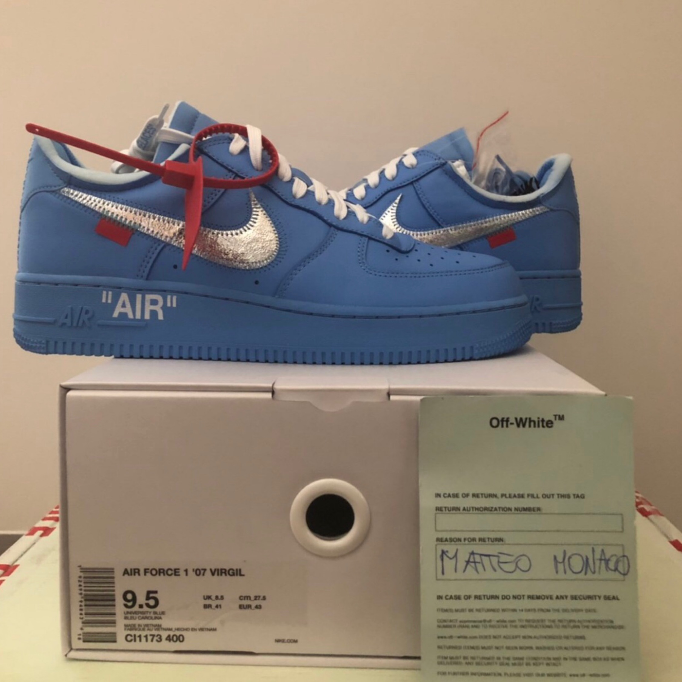 Air Force One X Off White Mca