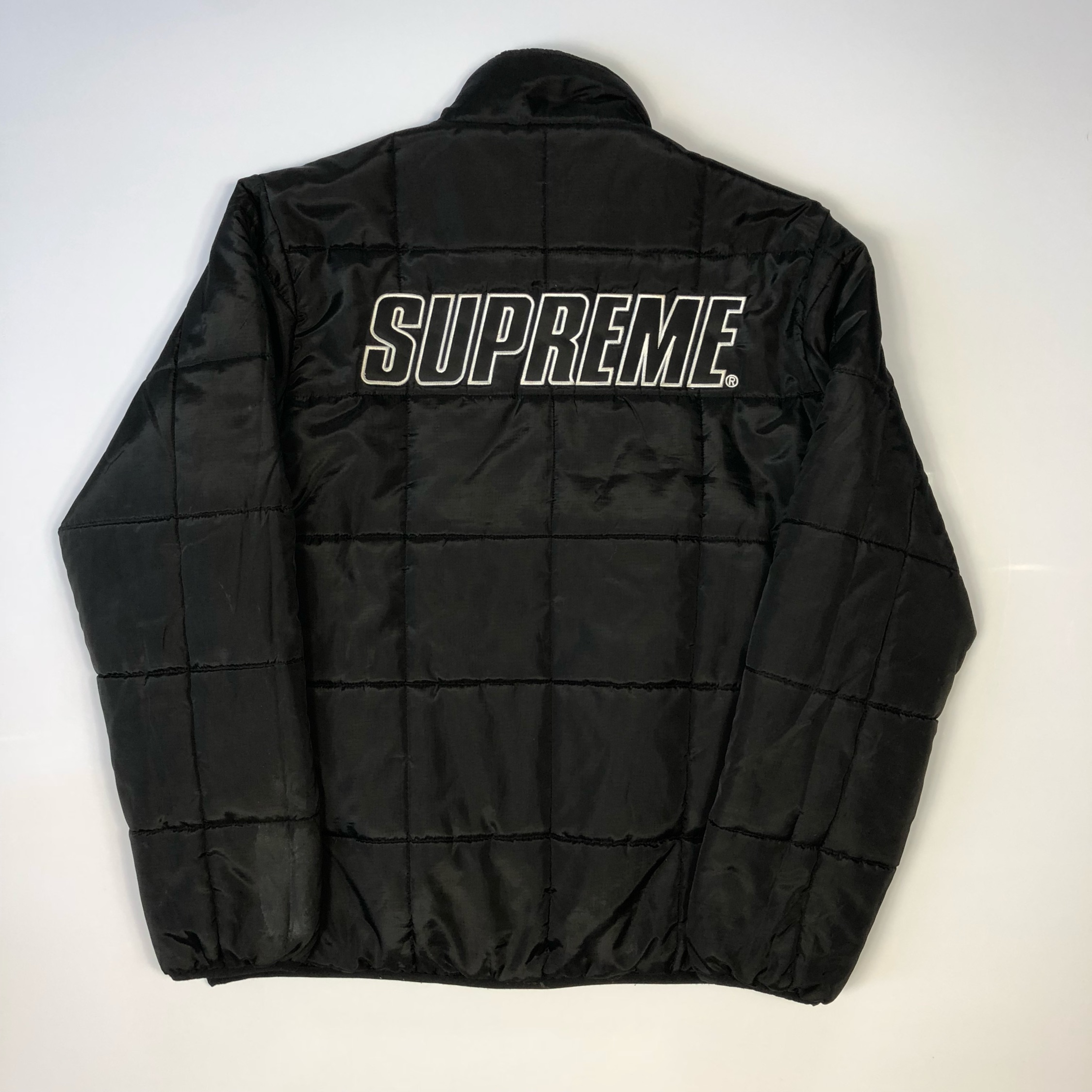 Supreme Reversible Puffer Jacket