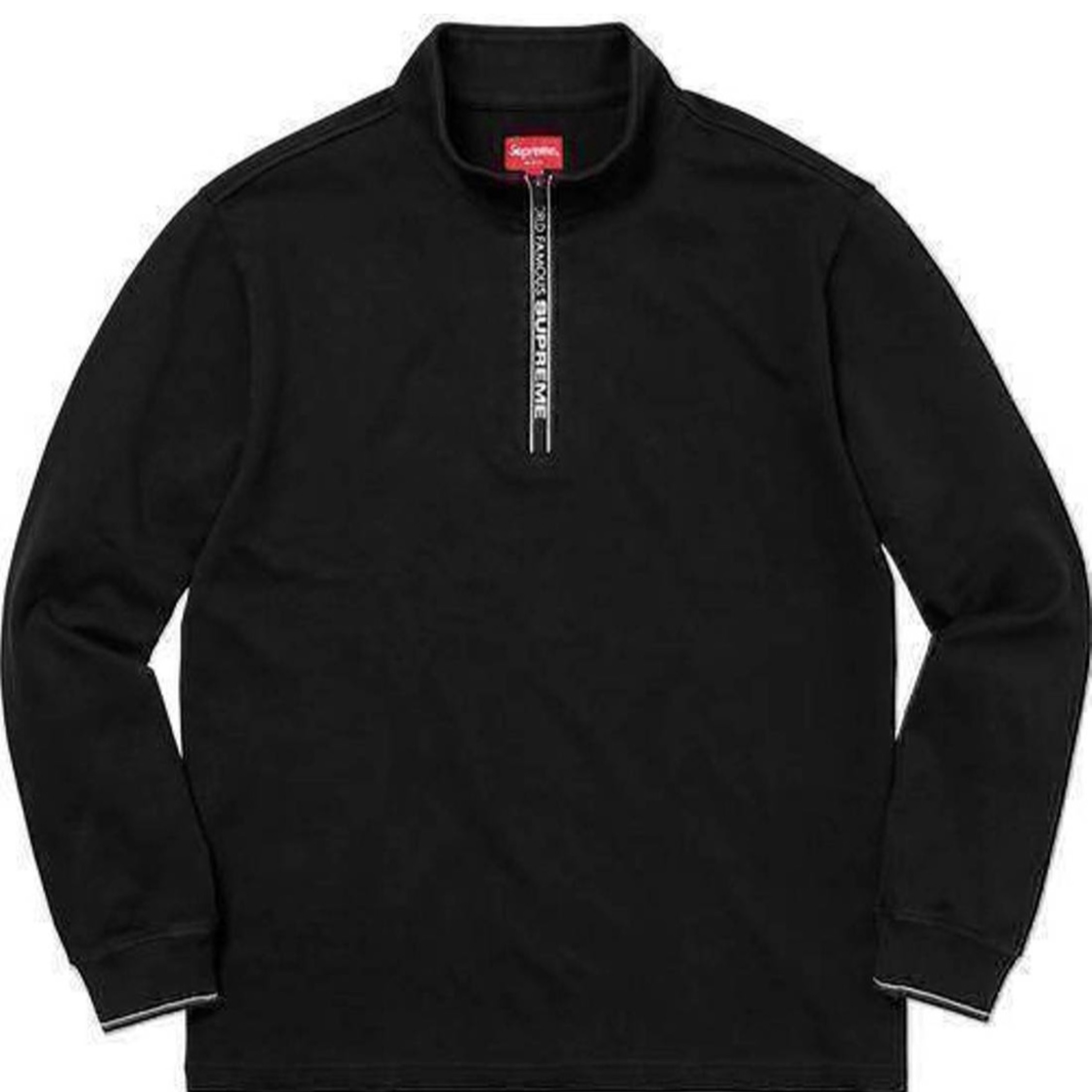Supreme Fw17 World Famous Half Zip Pullover Xl