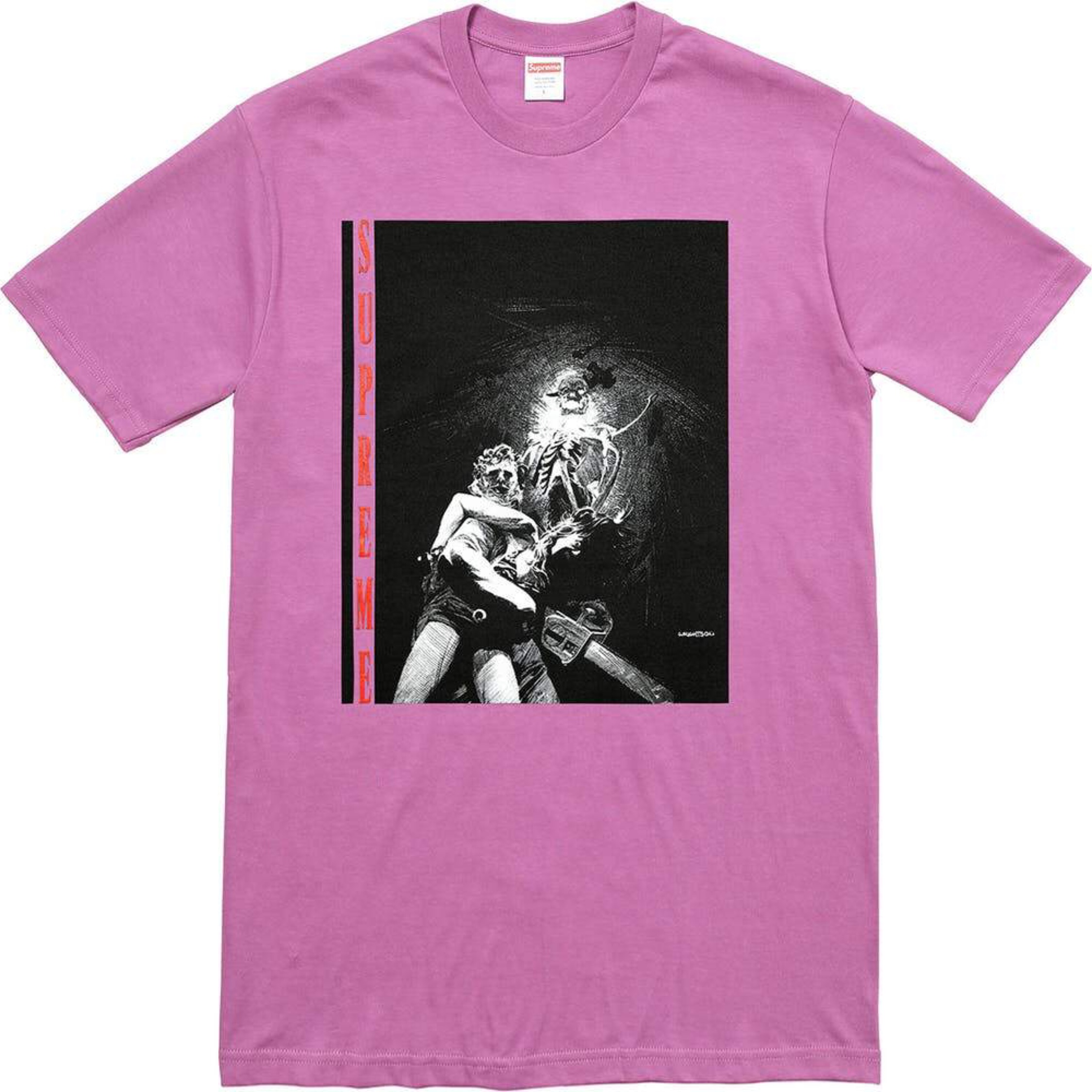 Ds Supreme Chainsaw Horror Tee M