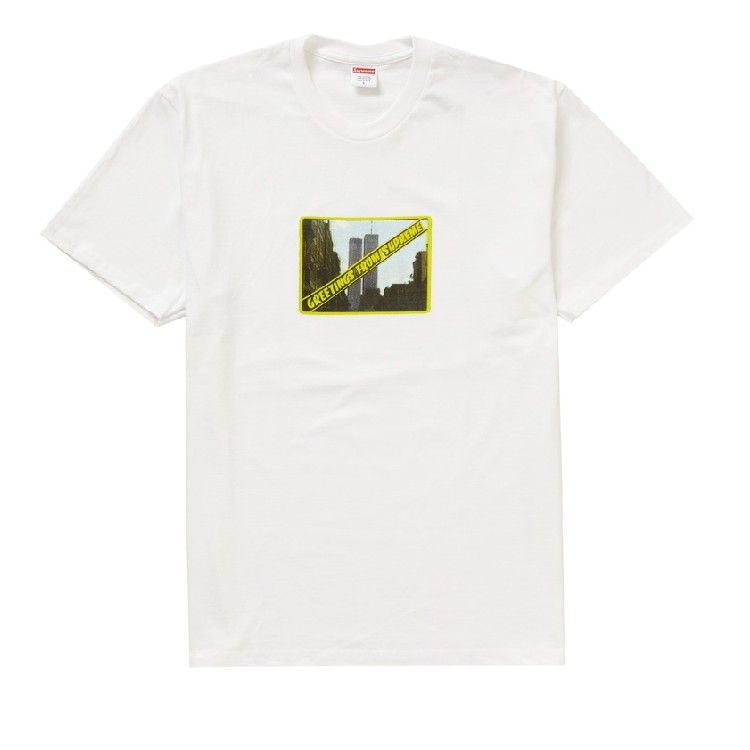SS19 Supreme Greetings from NY tee
