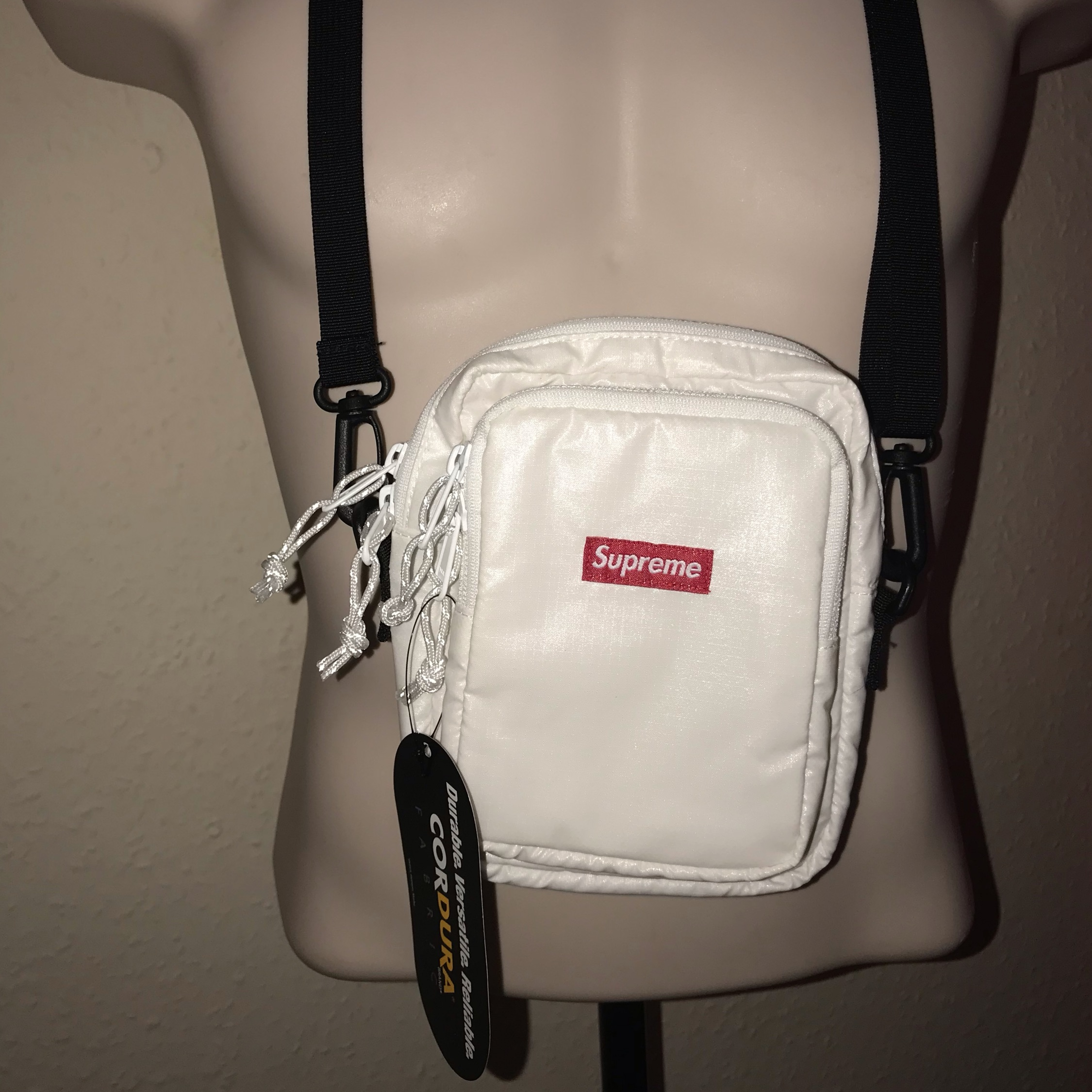 Fw17 Supreme Cordura Fabric Shoulder Bag