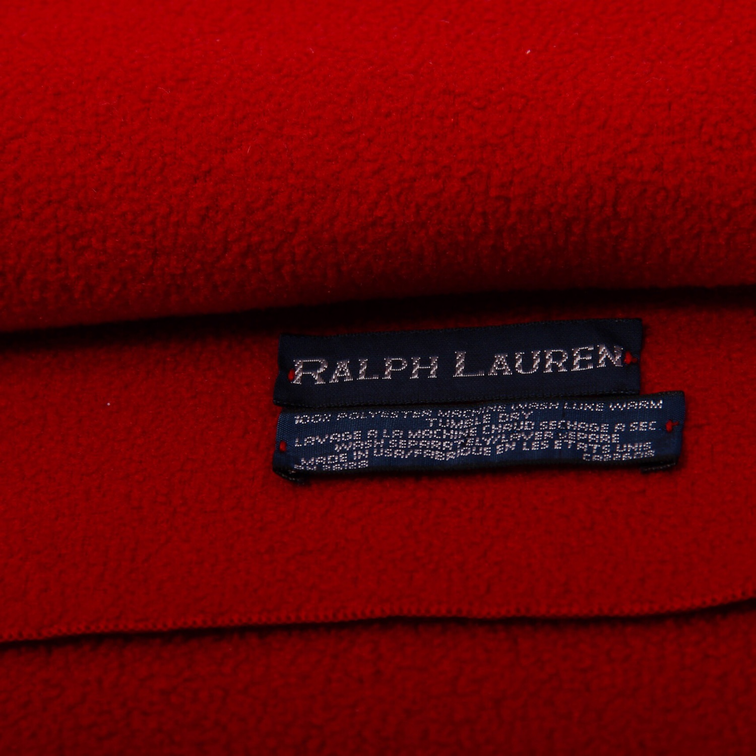 Polo Ralph Lauren Vintage Fleece Scarv