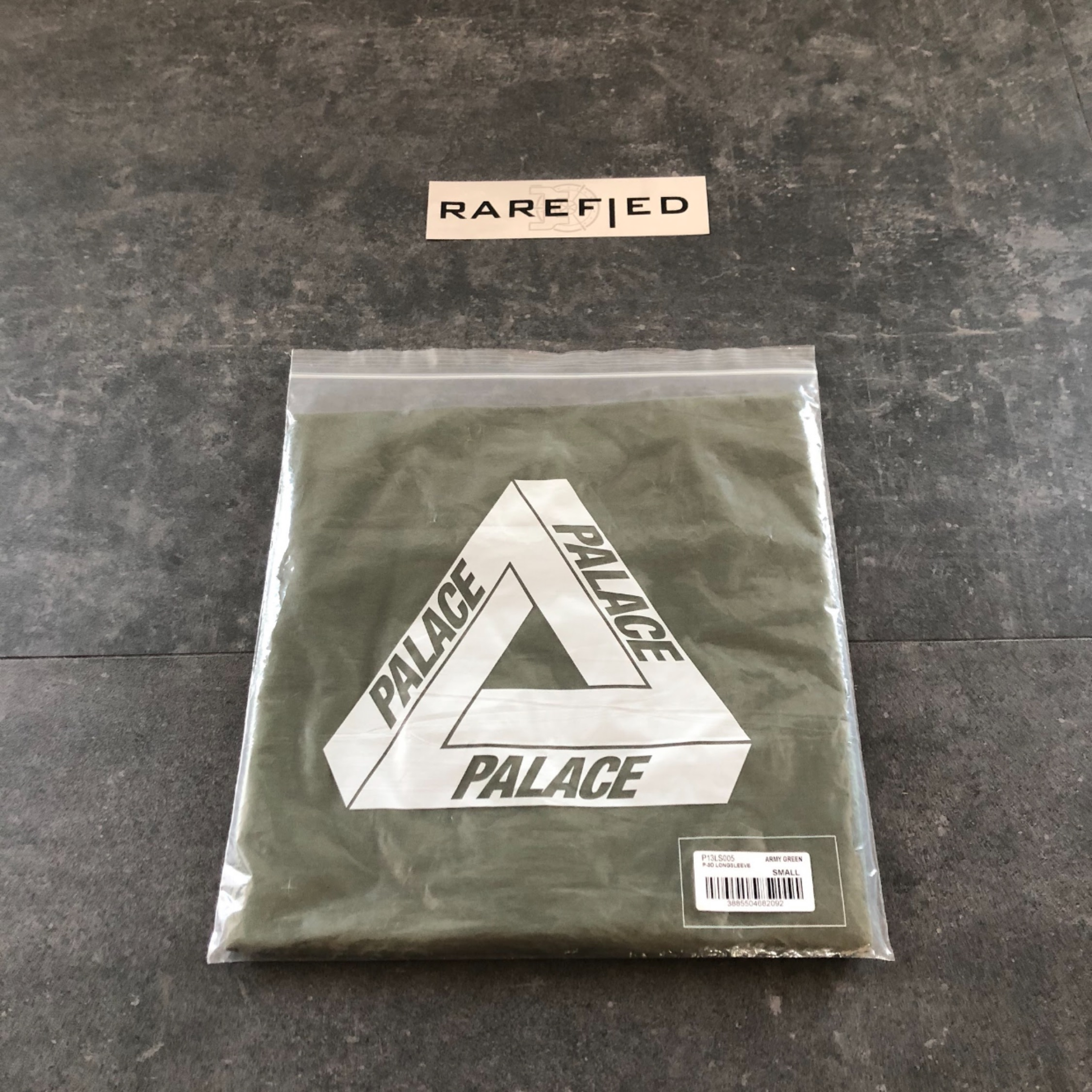 Palace L/S Green Small