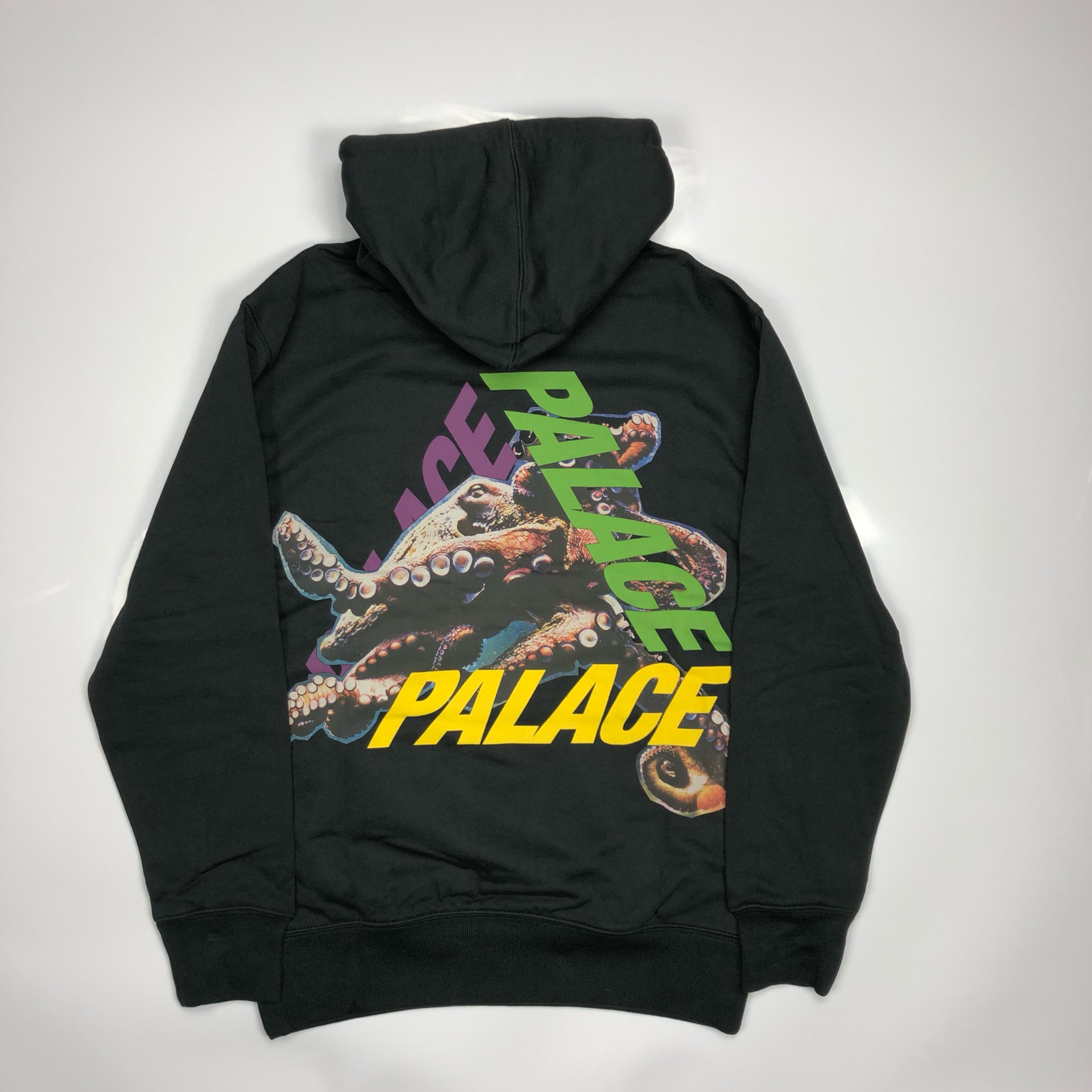 Palace Octo Tri Ferg Hoodie Small Black New