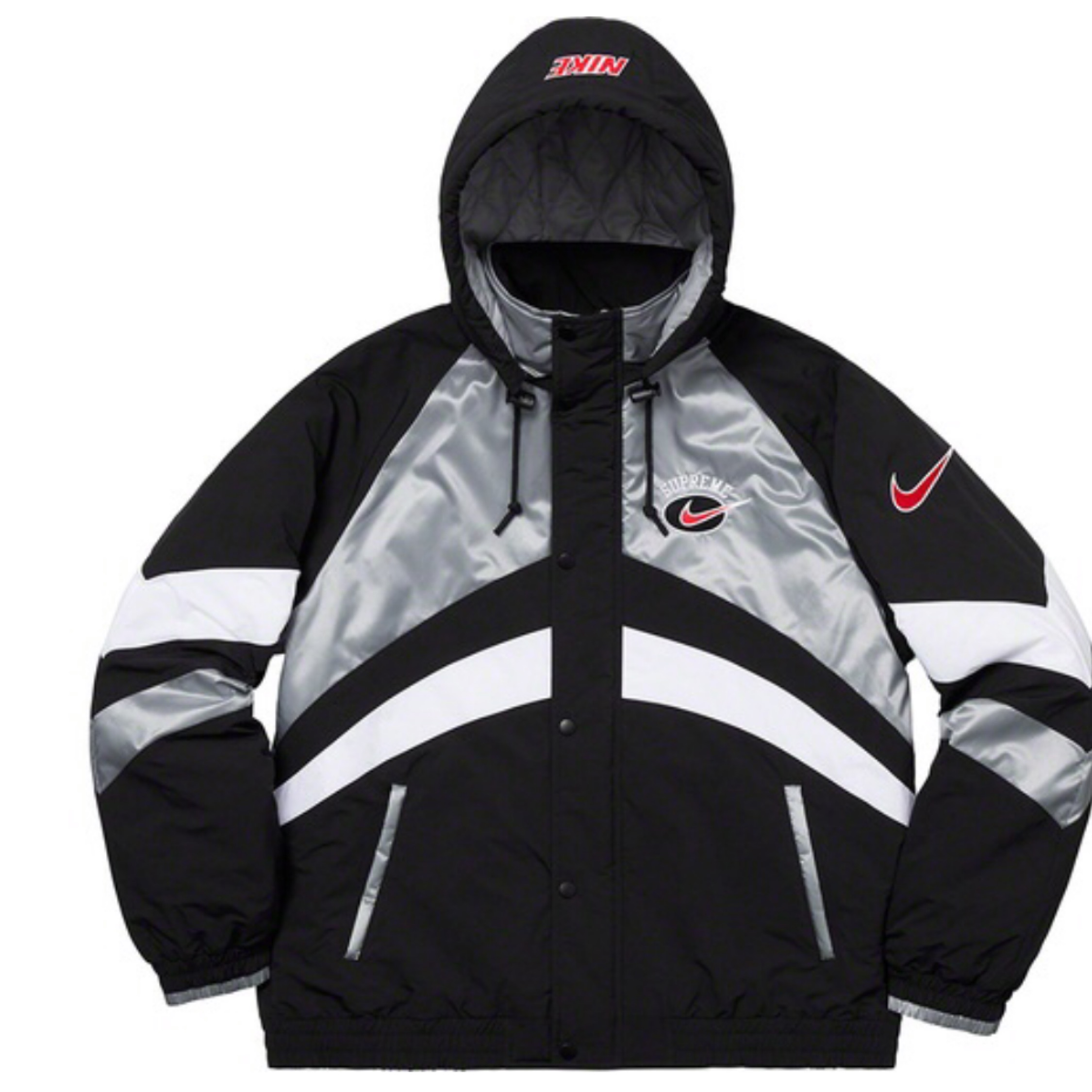 Ss19 Supreme X Nike Hooded Sport Jacket