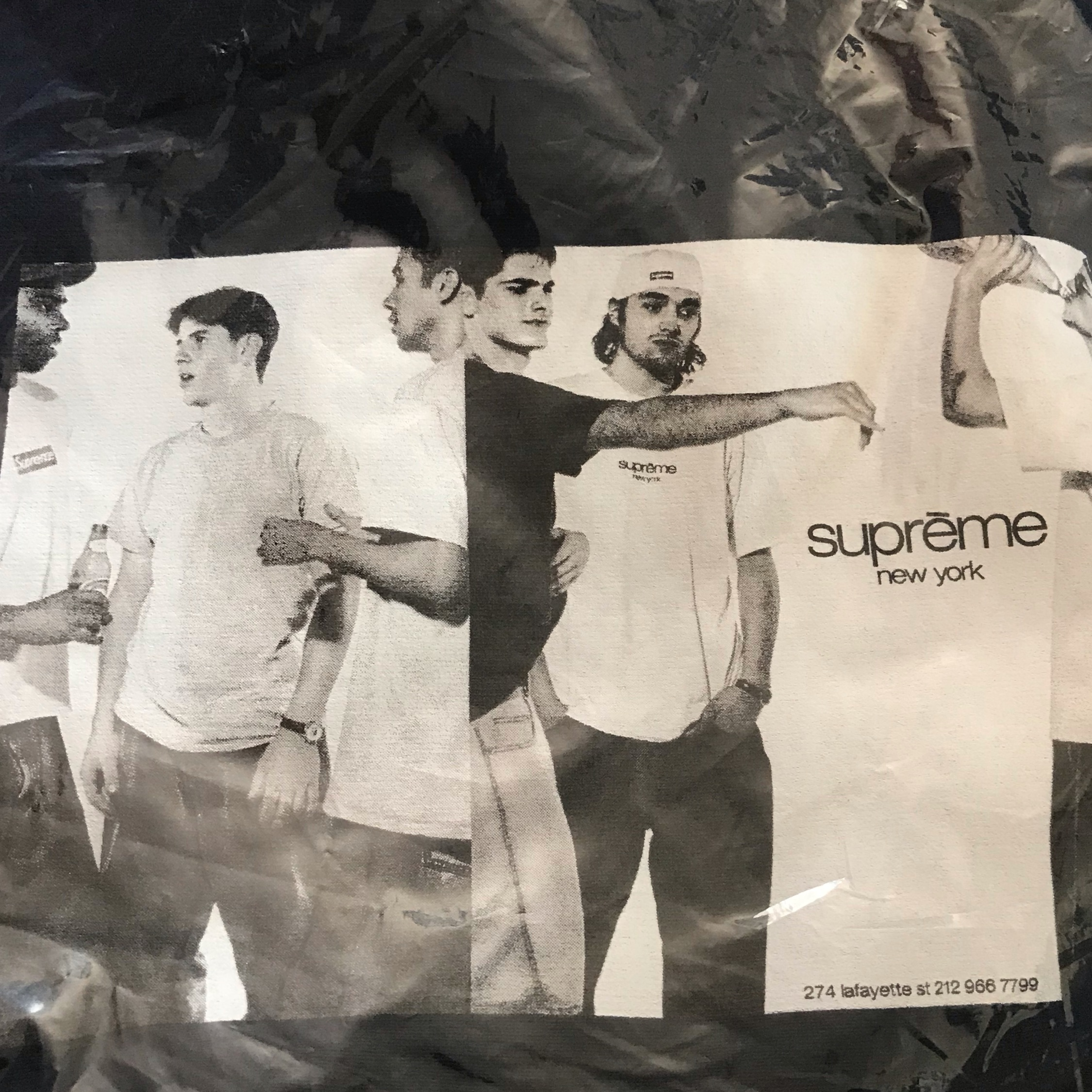 Ss19 Supreme Classic Ad Hooded Sweatshirt