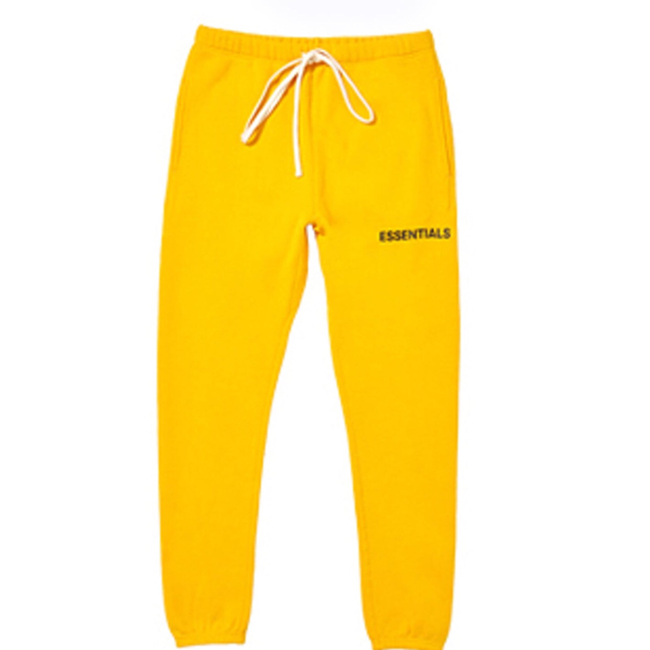 Fear Of God Essentials Graphic Sweat Pants Yellow