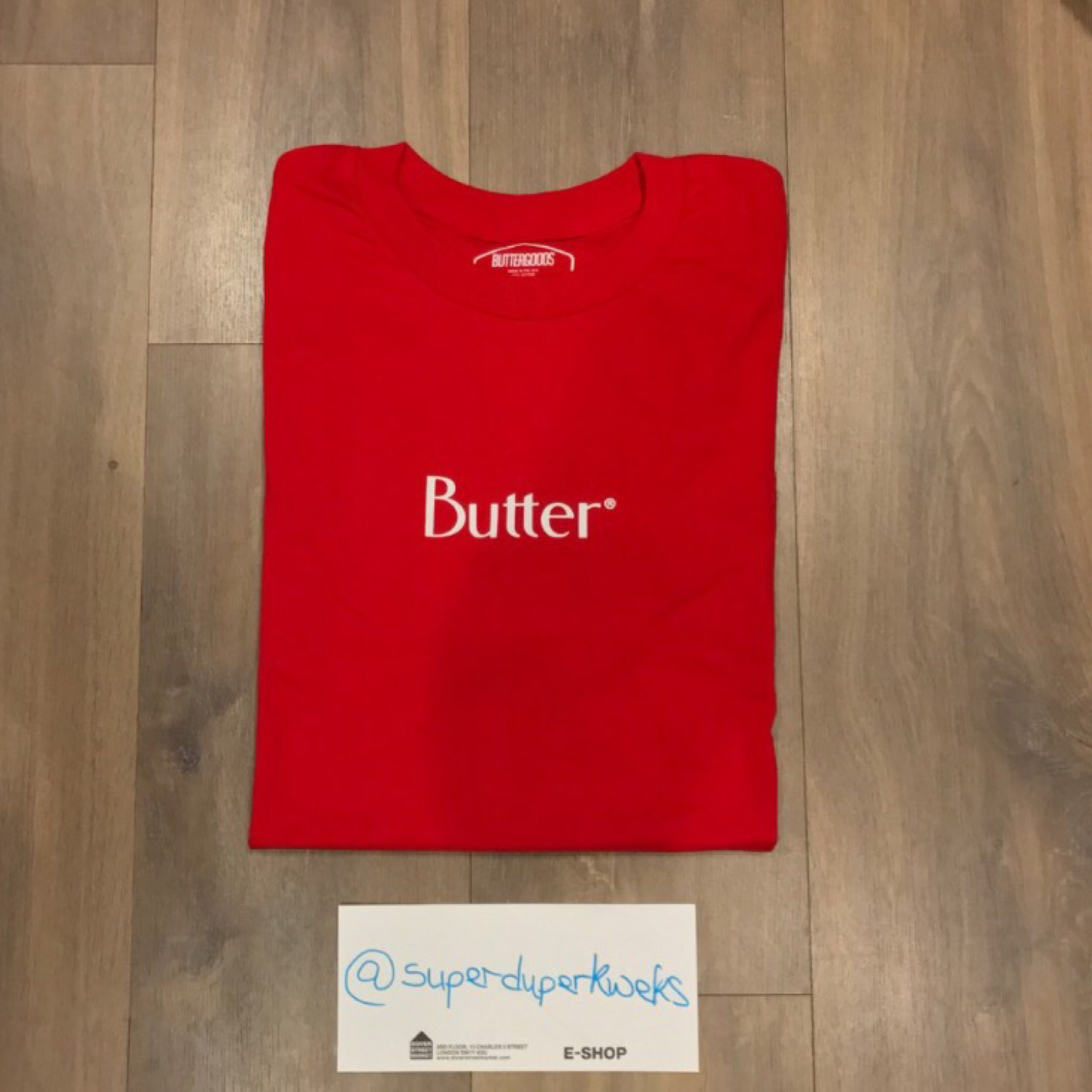 Better Classic Red Logo Tee
