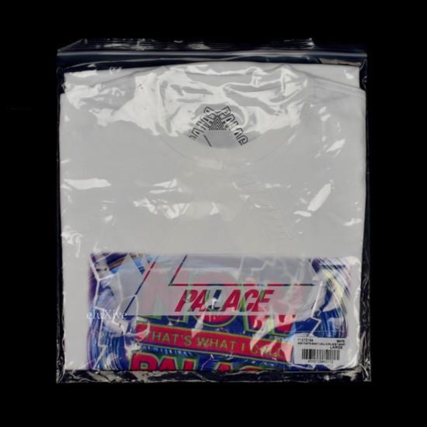 Palace Now That's What Logo Tshirt White Ds